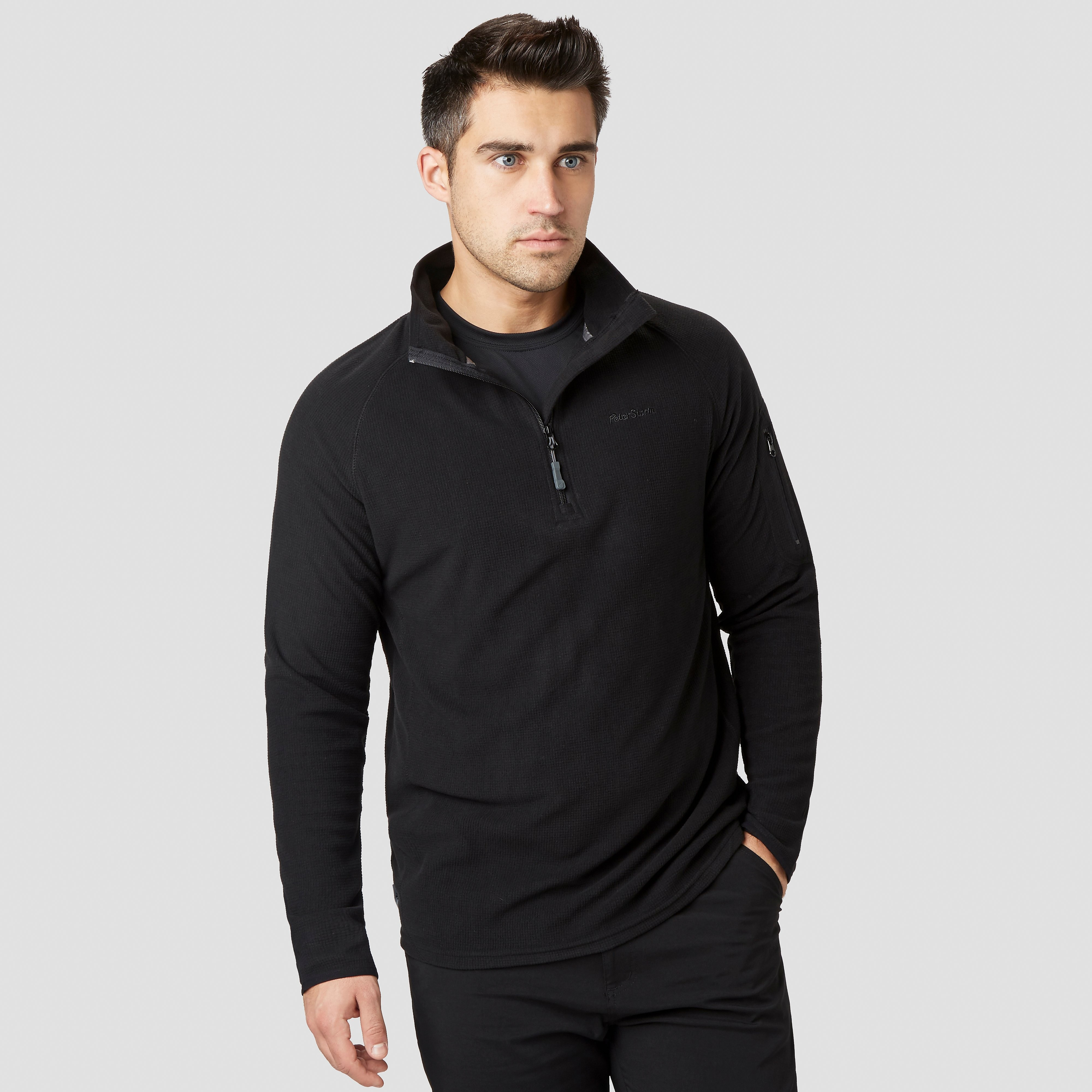 PETER STORM Men's Grid Half Zip Fleece