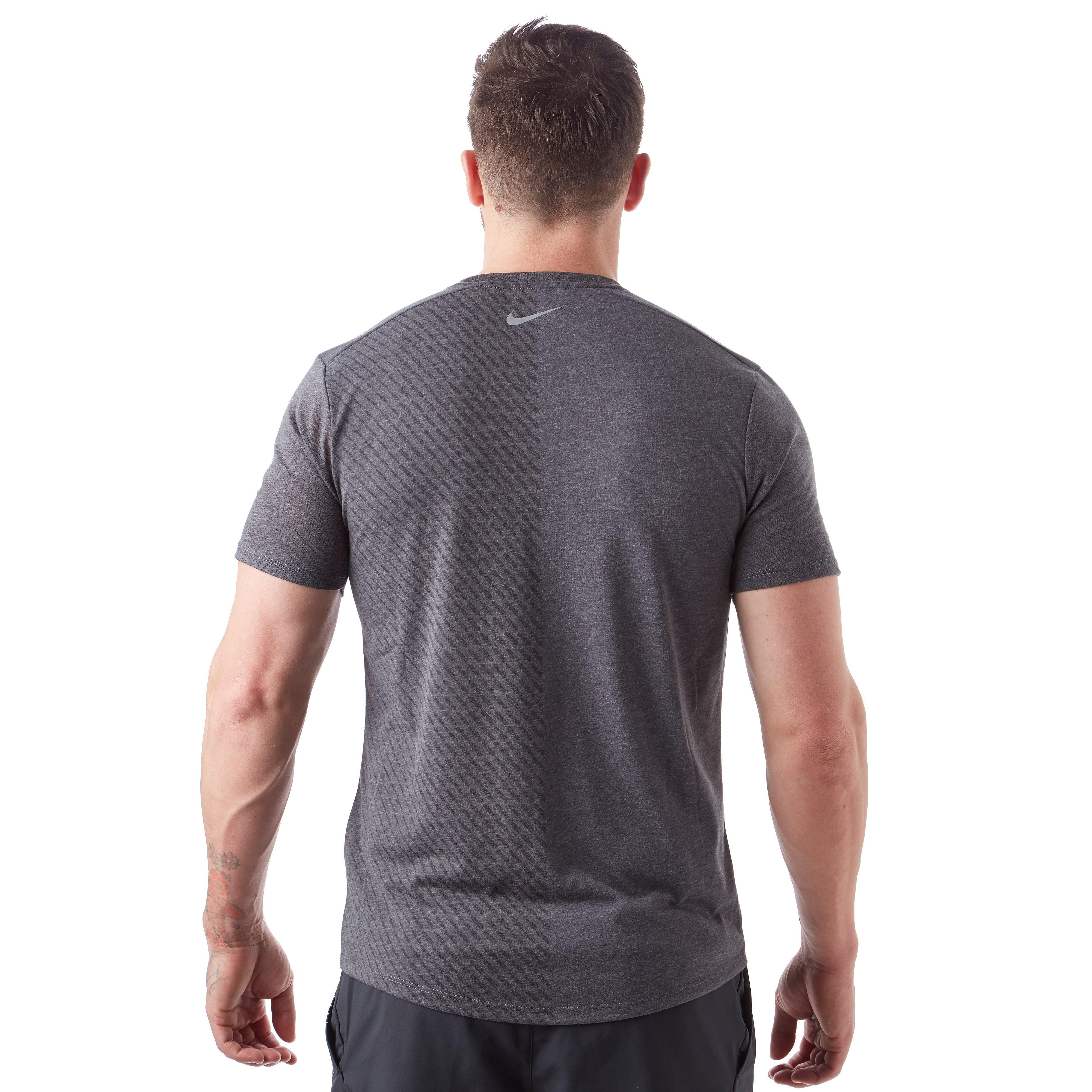 Nike Tailwind Short Sleeve Printed Men's Running