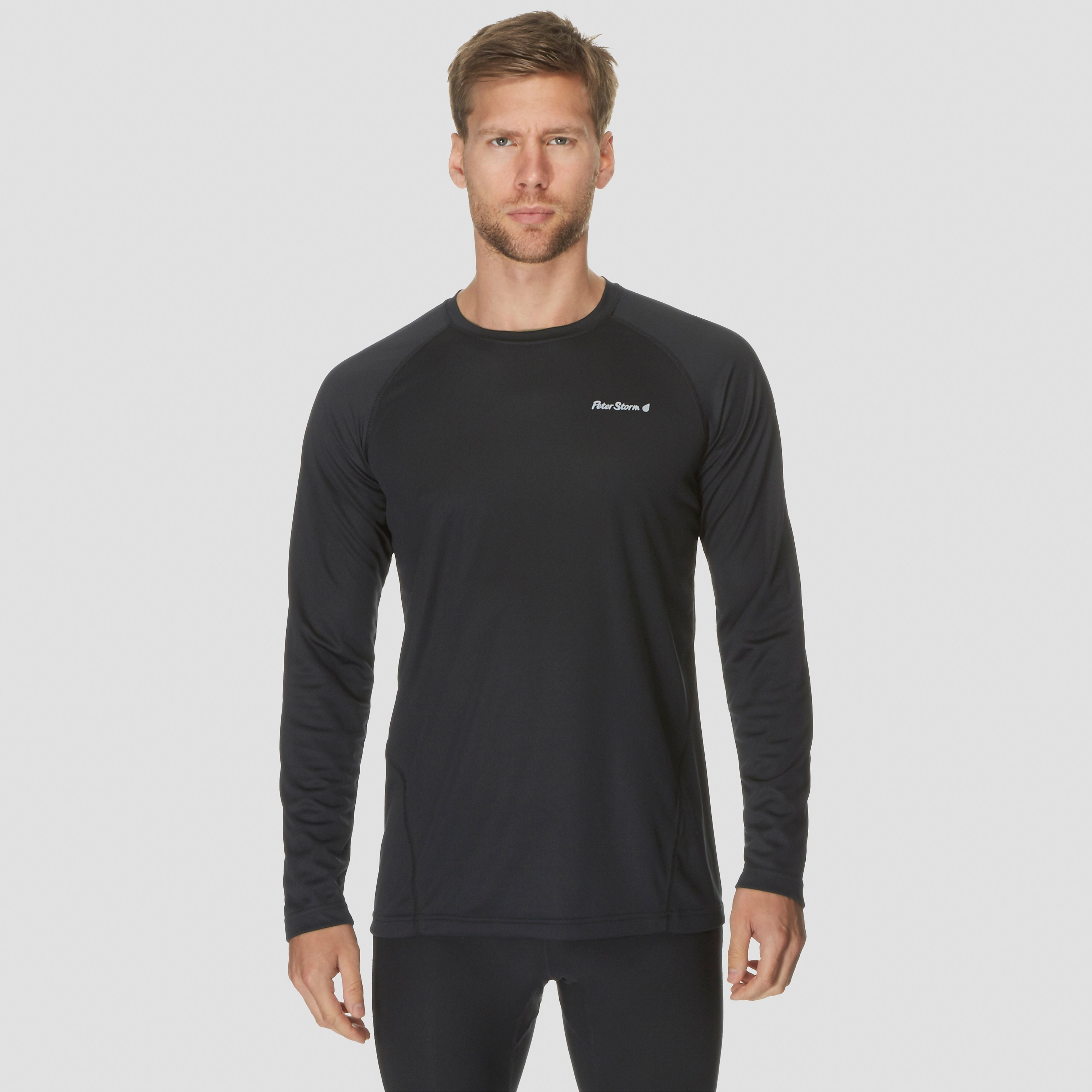 Peter Storm Men's Tech Long Sleeve Crew T-Shirt