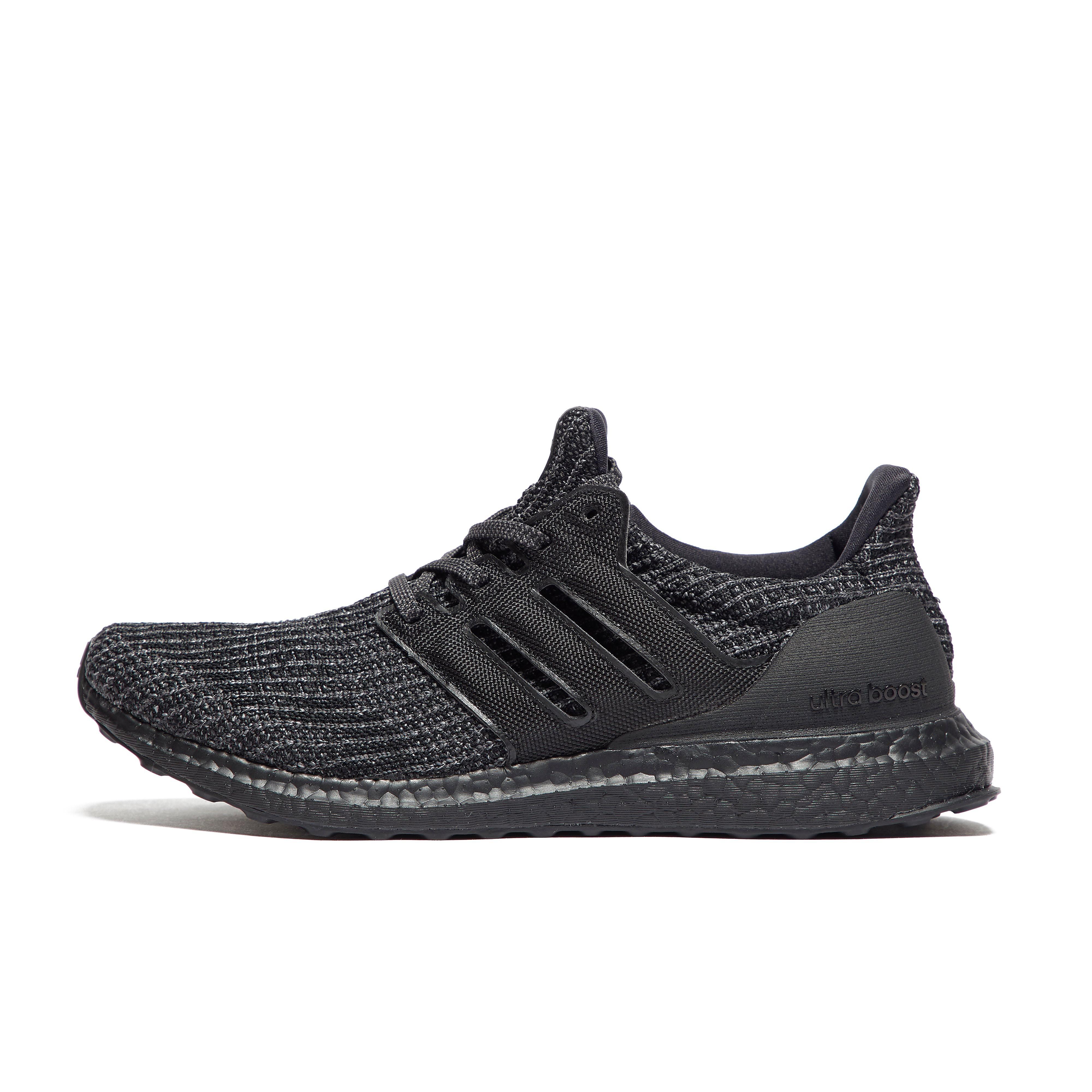 Mens Black adidas Ultraboost Running Shoes
