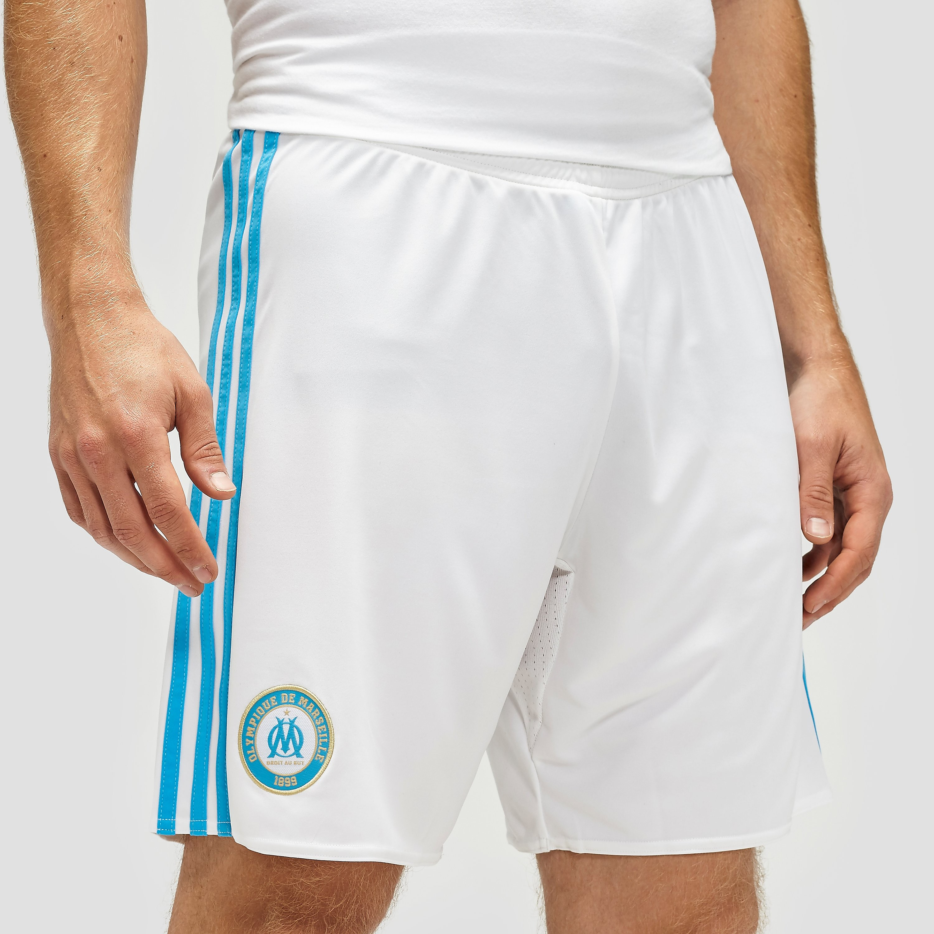 adidas Olympique Marseille 2016/17 Home Shorts