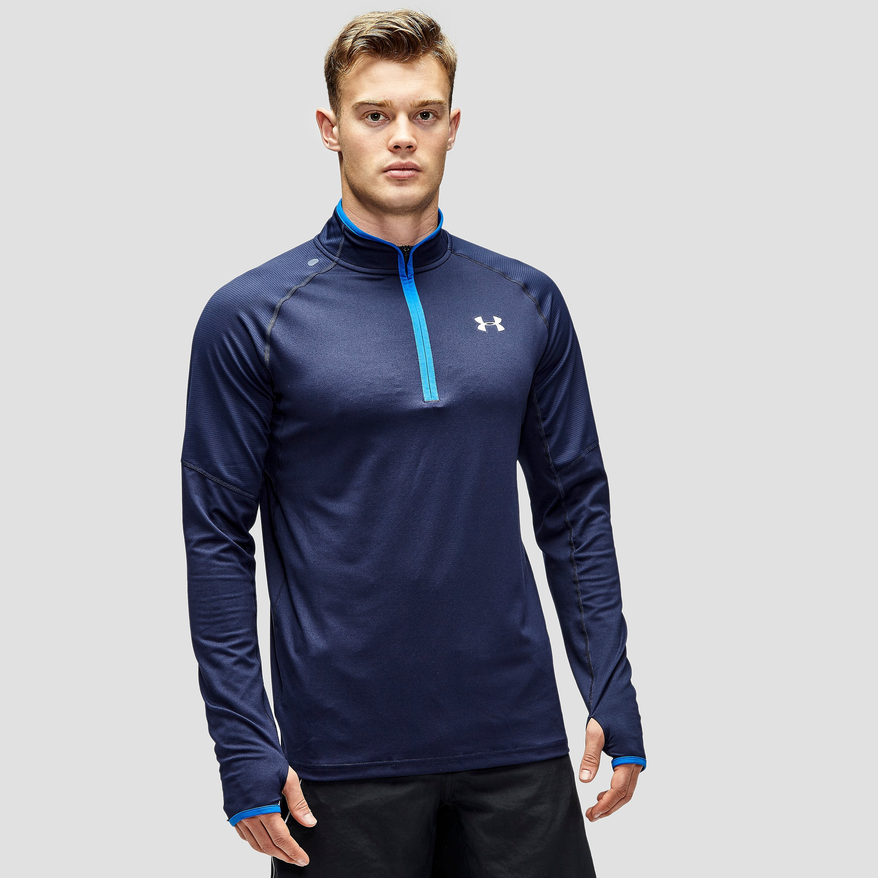 Under Armour No Breaks Run 1/4 Zip Top