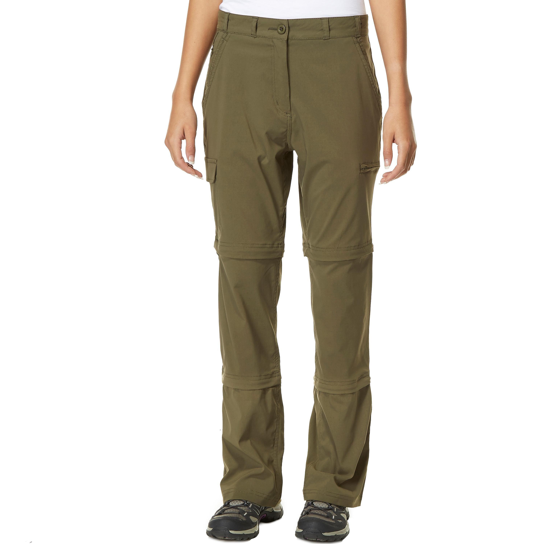 Peter Storm Women's Stretch Double Zip Off Trousers - Regular