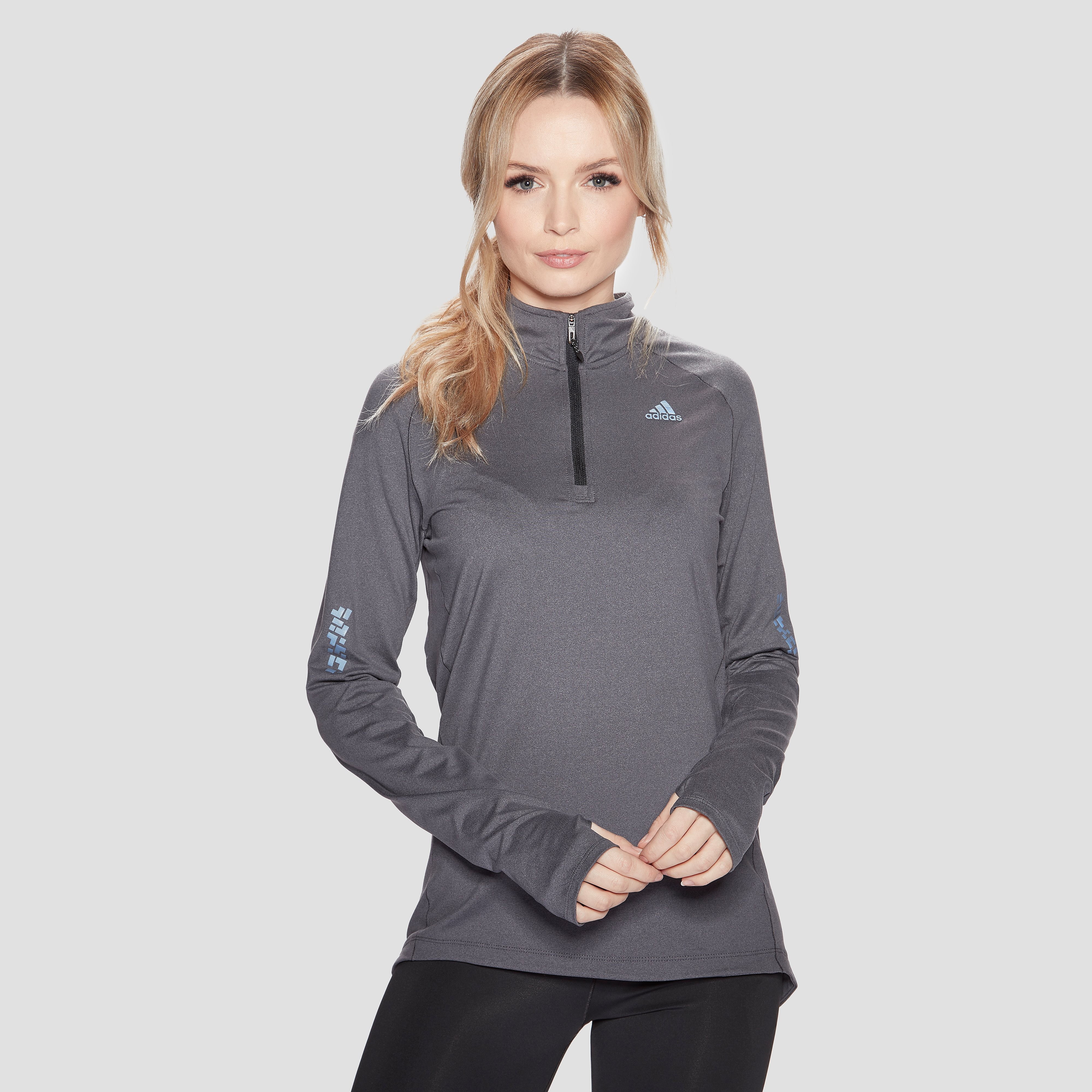 adidas Women's Supernova 1/2 Zip Long Sleeve Top
