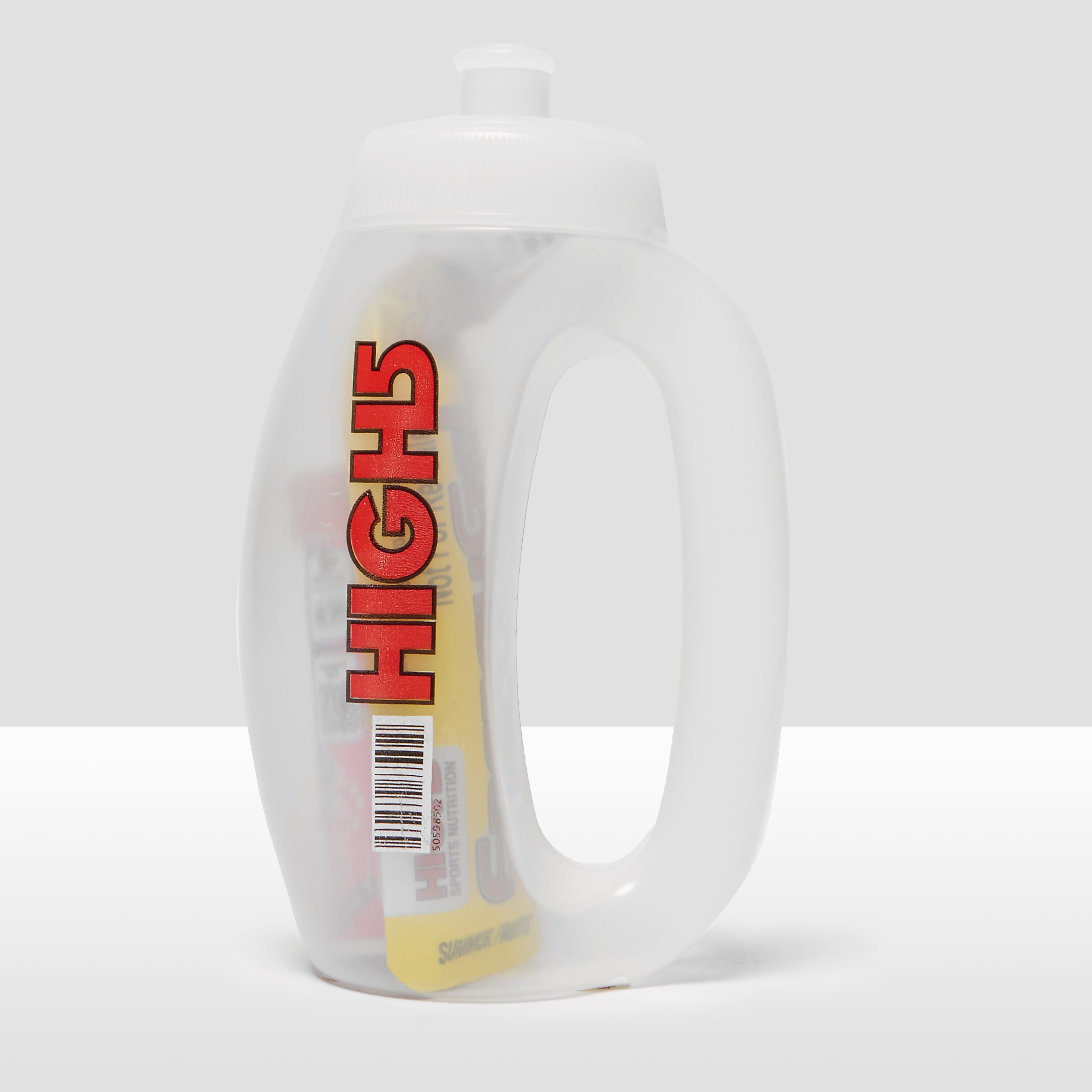High 5 Bottle Bundle-Run Bottle, Zero 10 Berry Hydration Tube and Summer Fruits Energy Gel