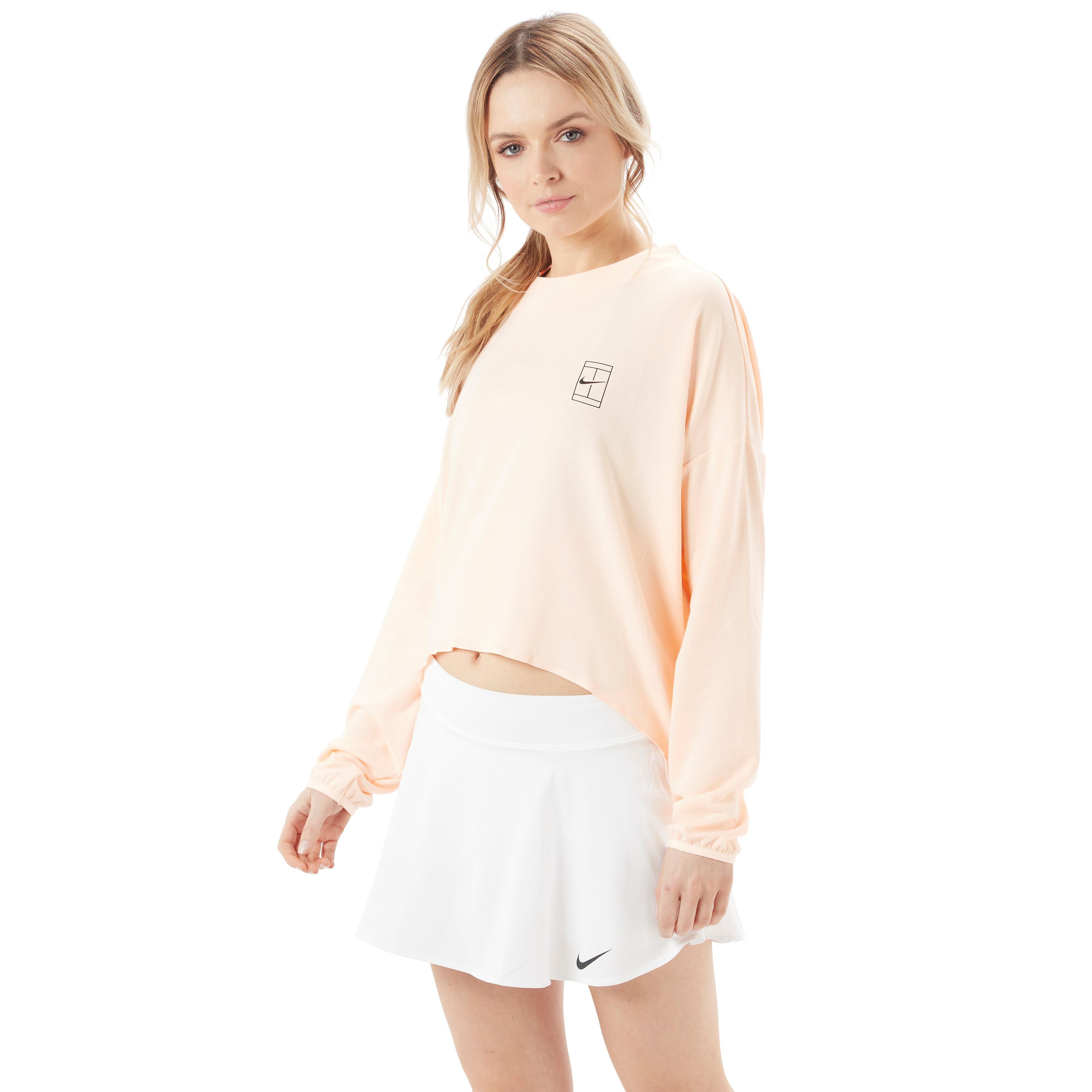 Nike Court Dri-FIT Long Sleeve Women's Tennis Top