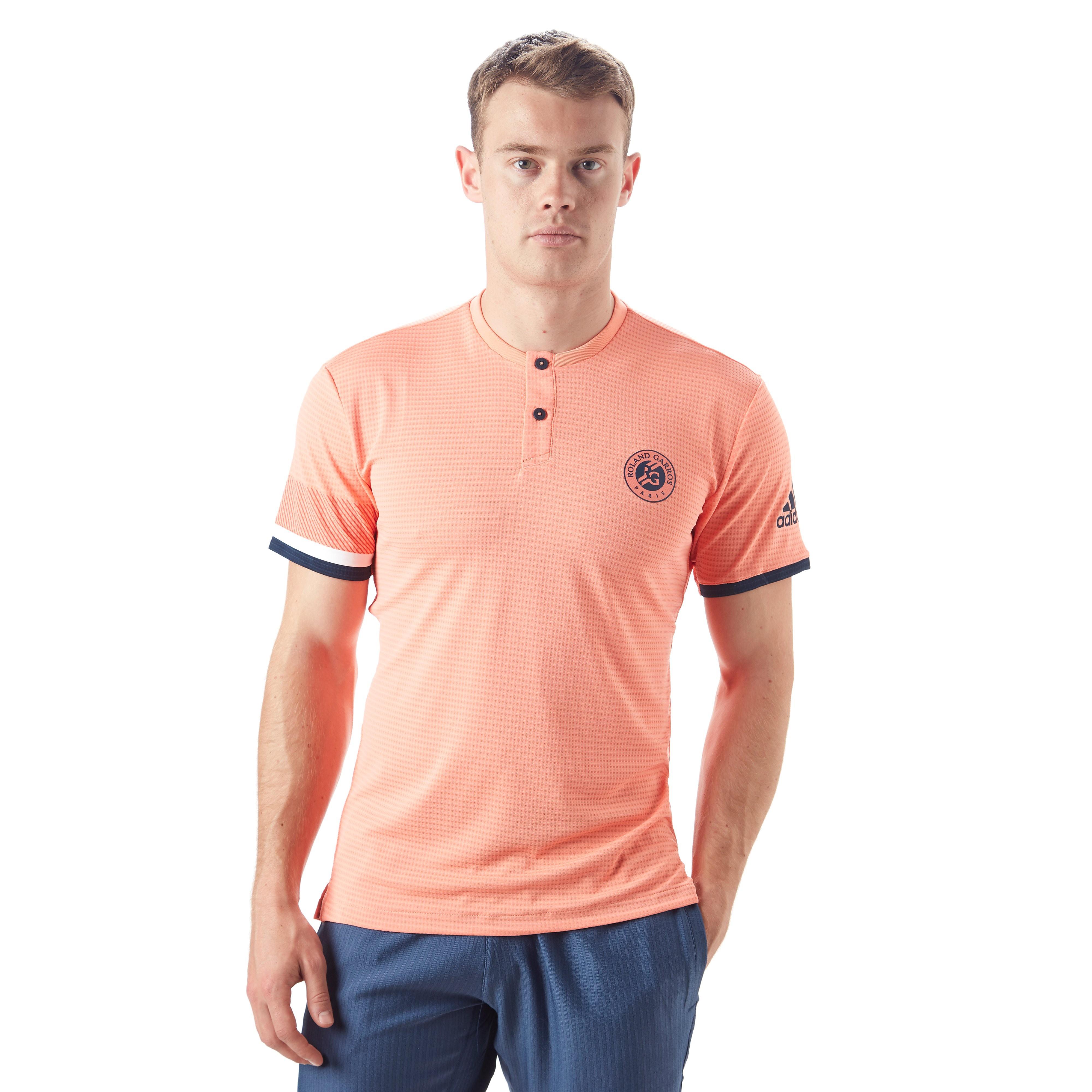 adidas Roland Garros Climachill Men's Tennis T-Shirt