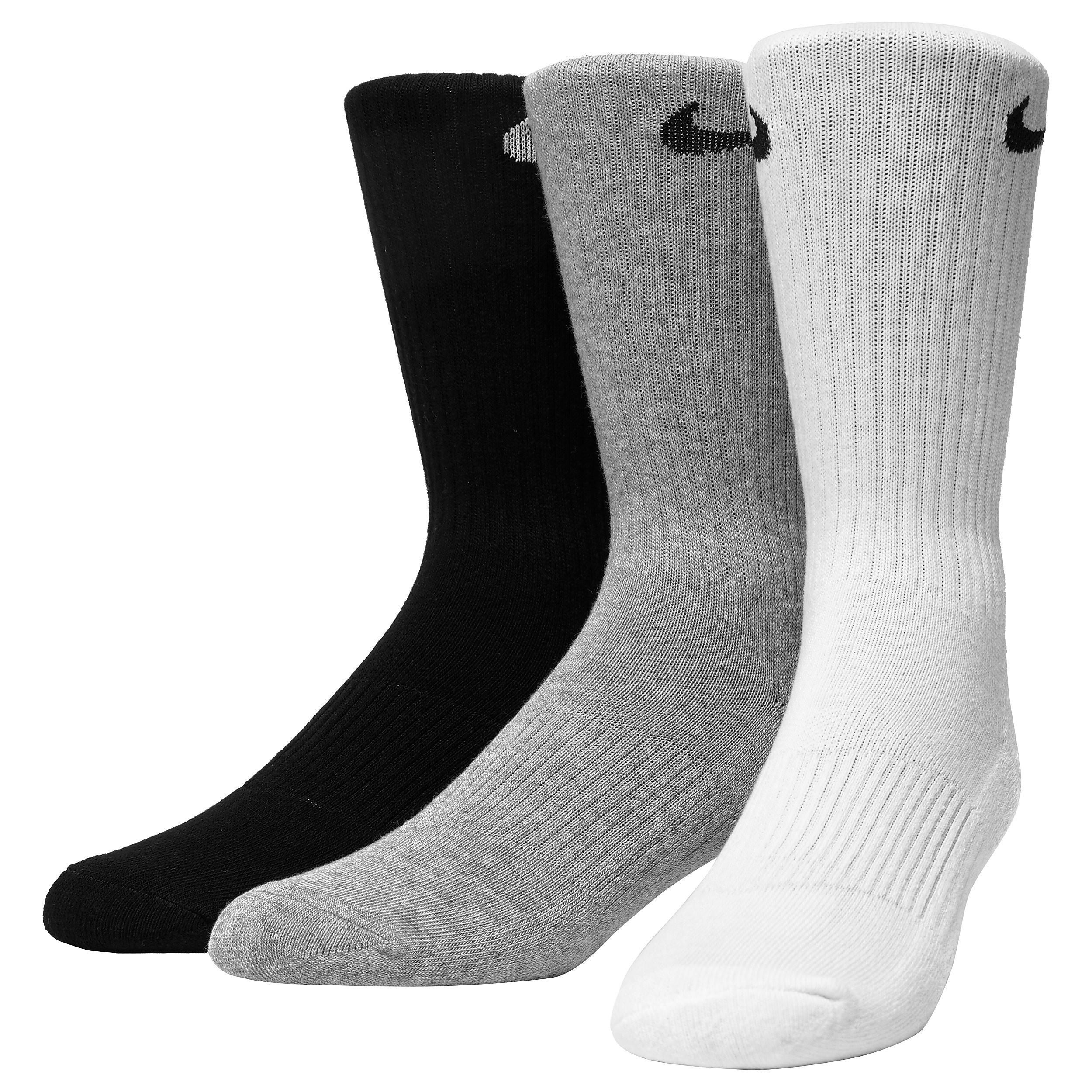 Nike 3 Pack Dri-FIT Cushion Crew Socks