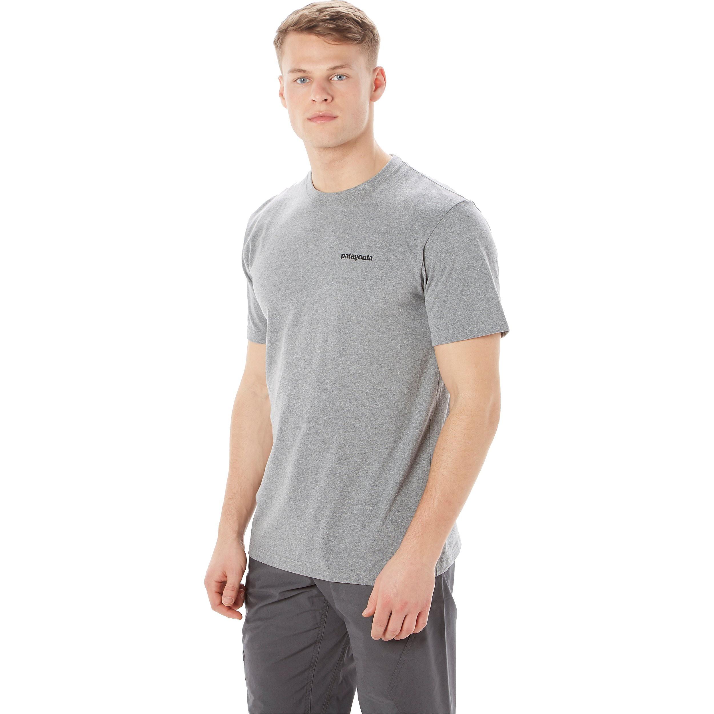Patagonia P-6 Logo Organic Cotton Men's T-Shirt