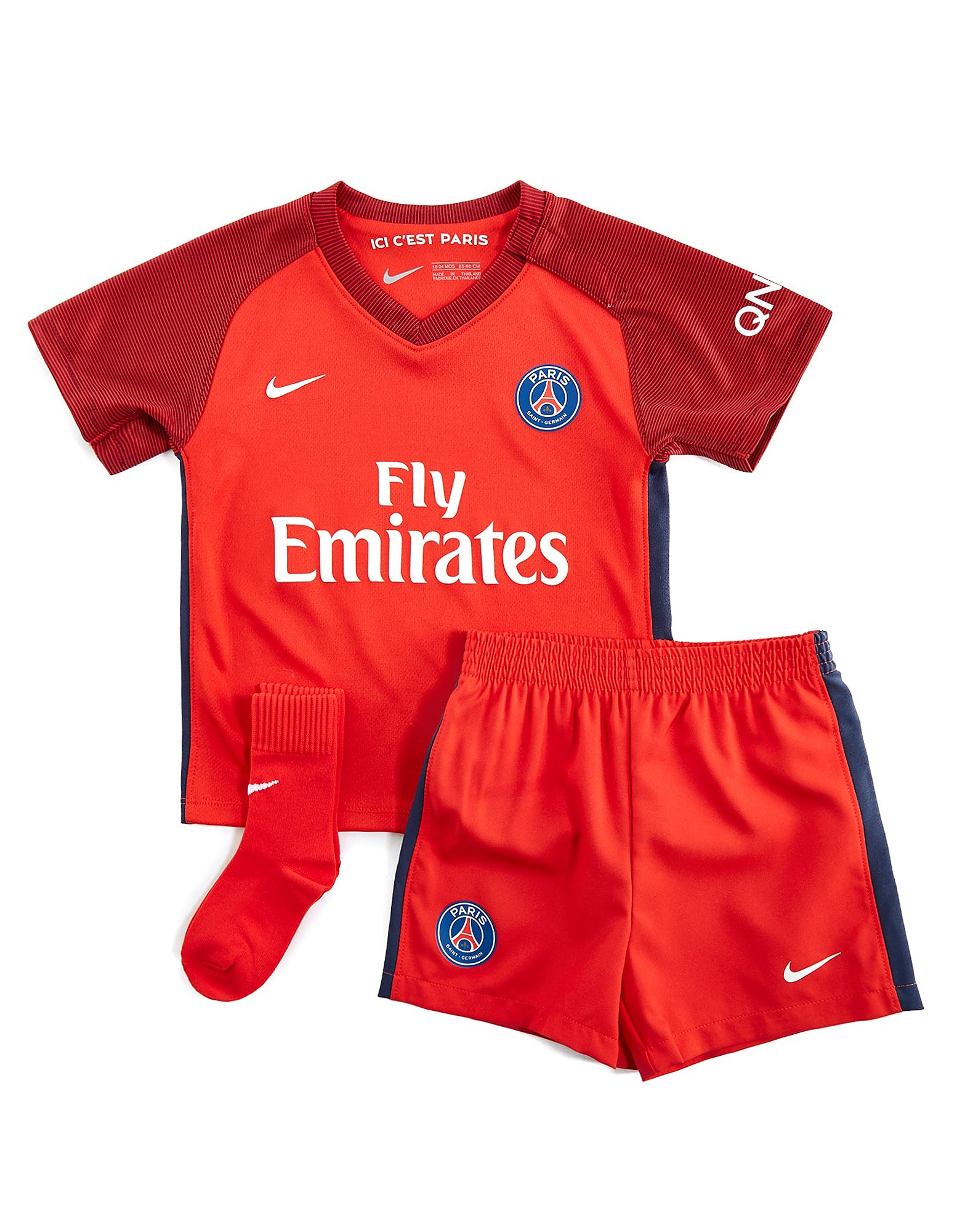 Nike Paris Saint Germain 2016/17 Infant's Away Kit
