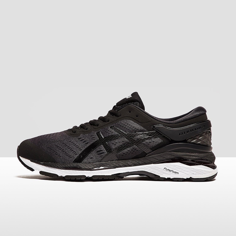 Men's ASICS Gel-Kayano 24 Running Shoes - Black, Black