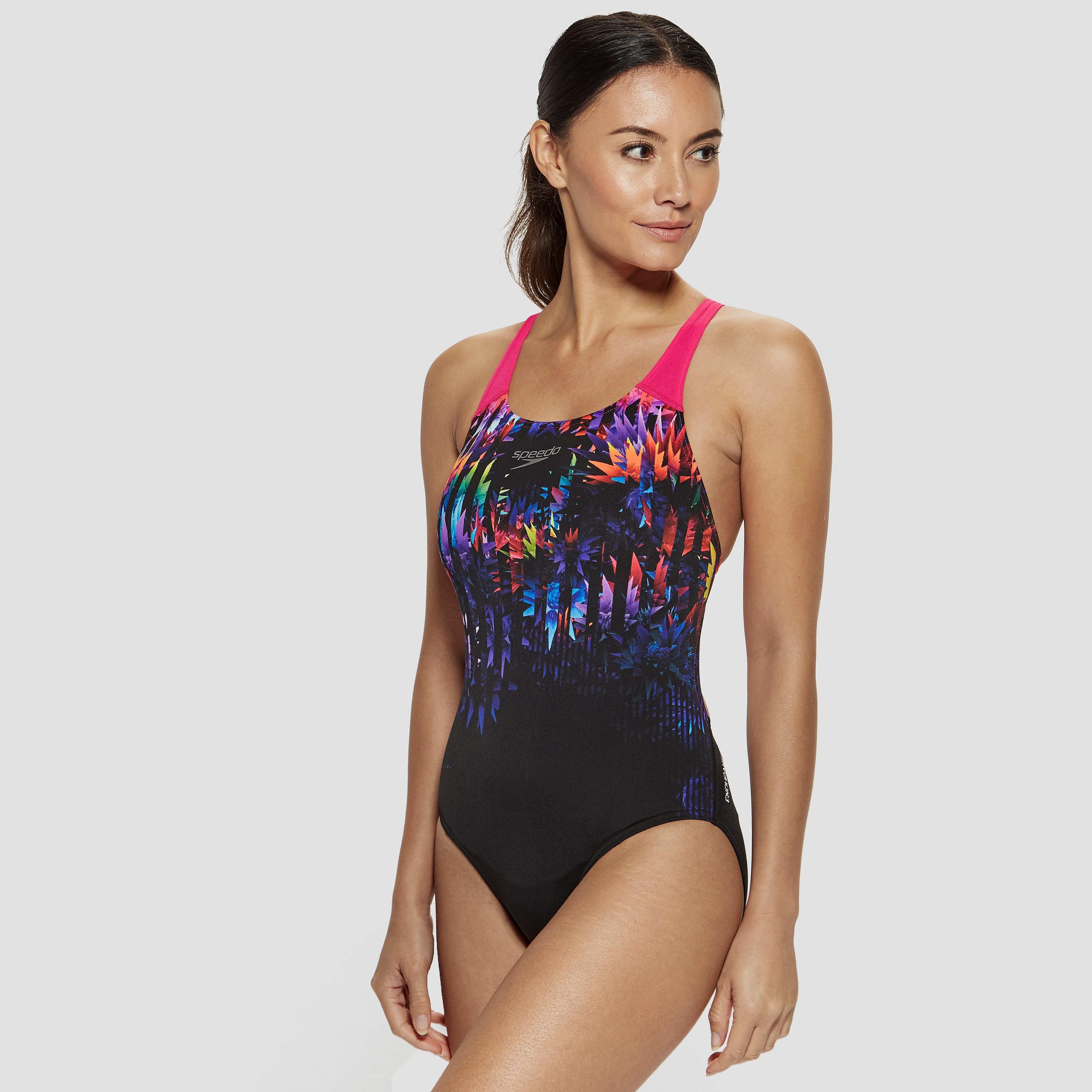 Speedo Solar Fizz Digital Powerback Swimsuit