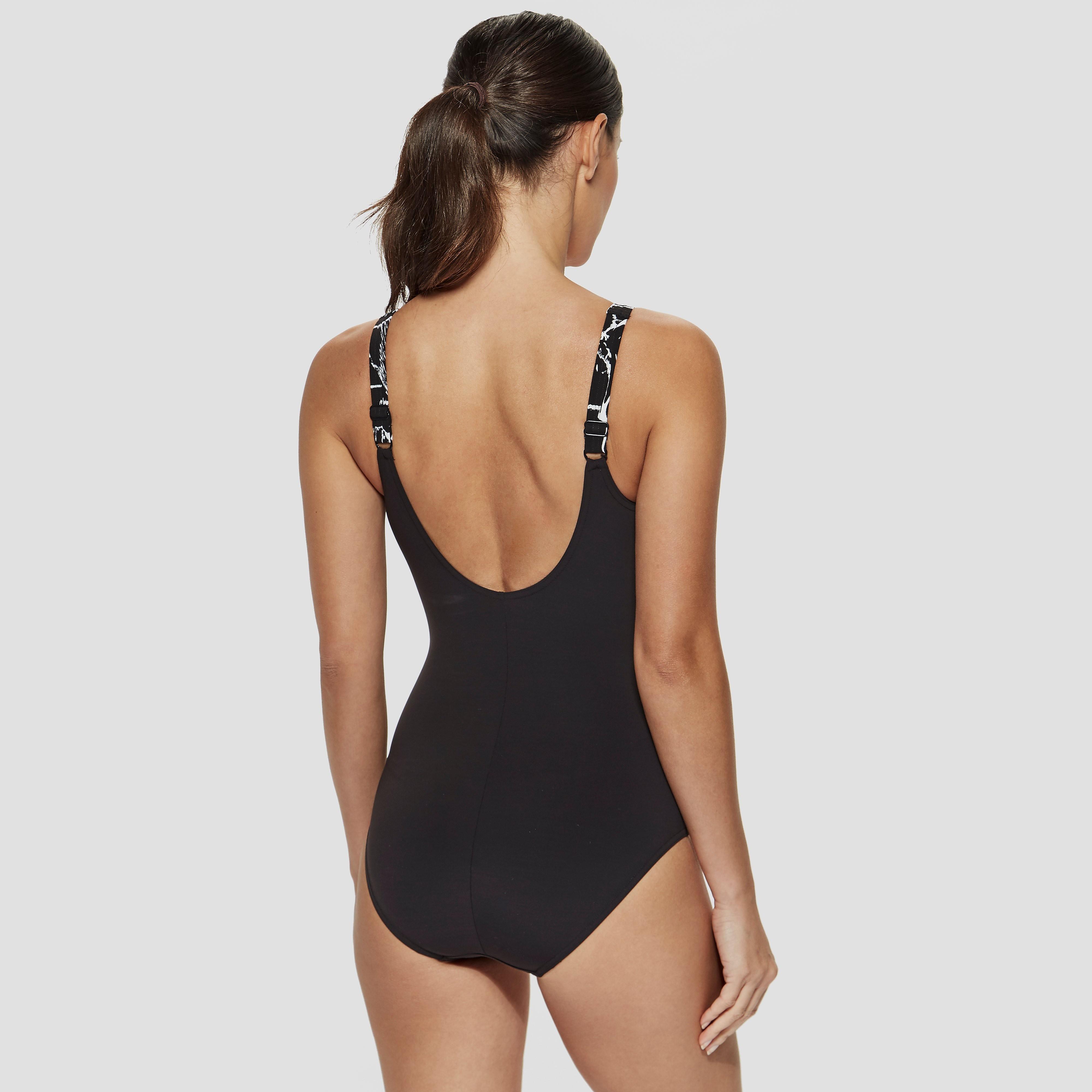 Speedo Sculpture LunaLustre Printed Swimsuit