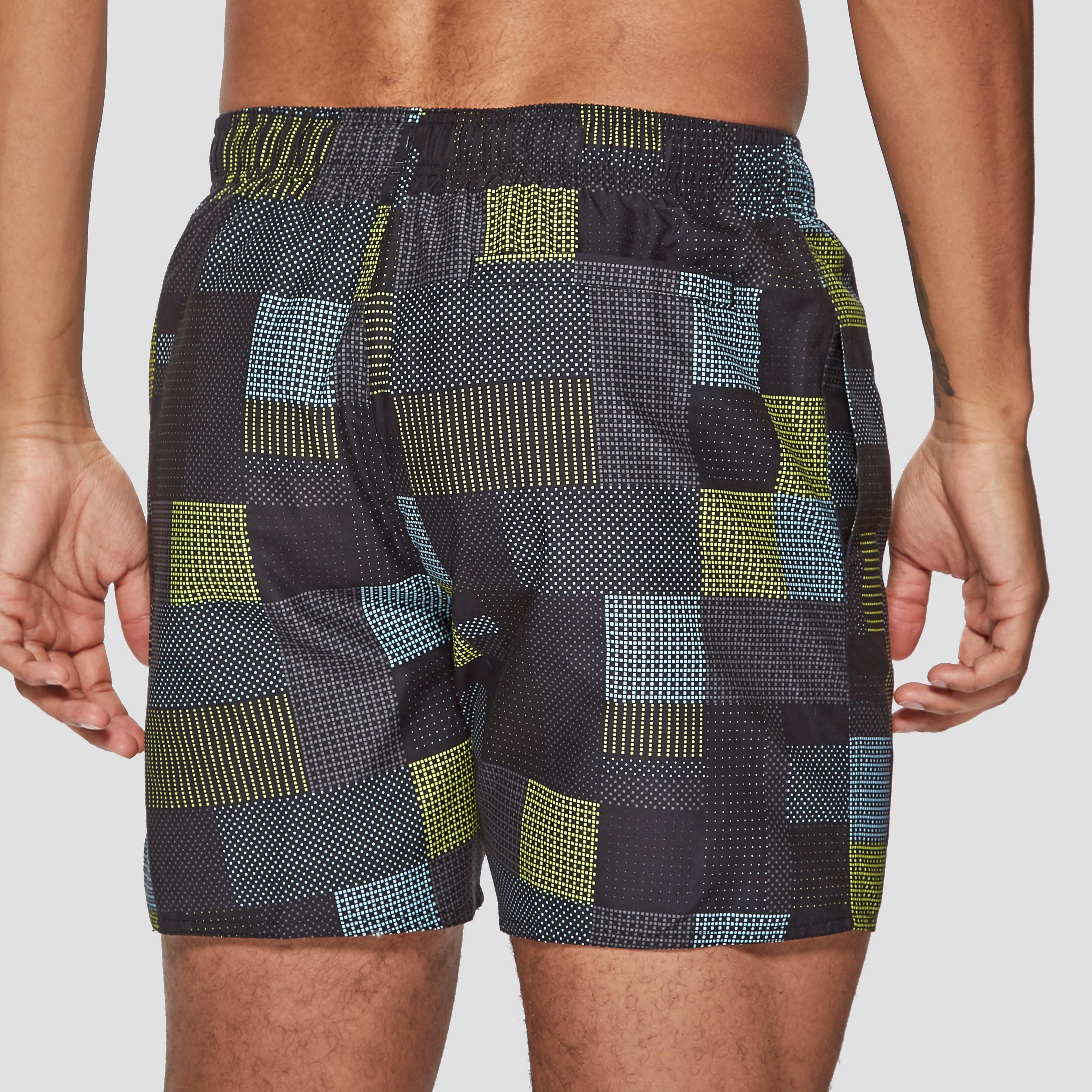 """Speedo Printed Check Leisure 16"""" Men's Swim Shorts"""