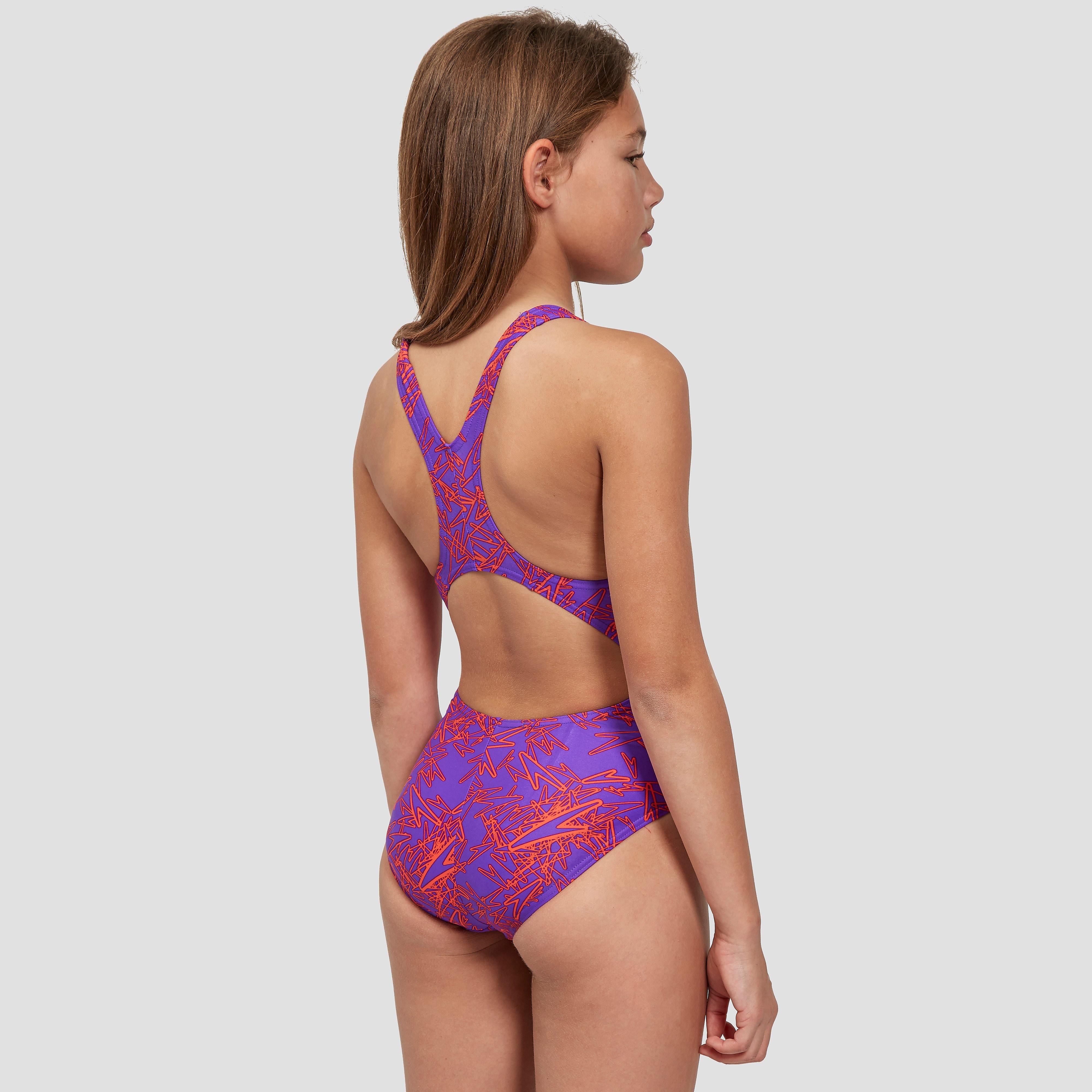Speedo Boom Allover Splashback Junior Swimsuit