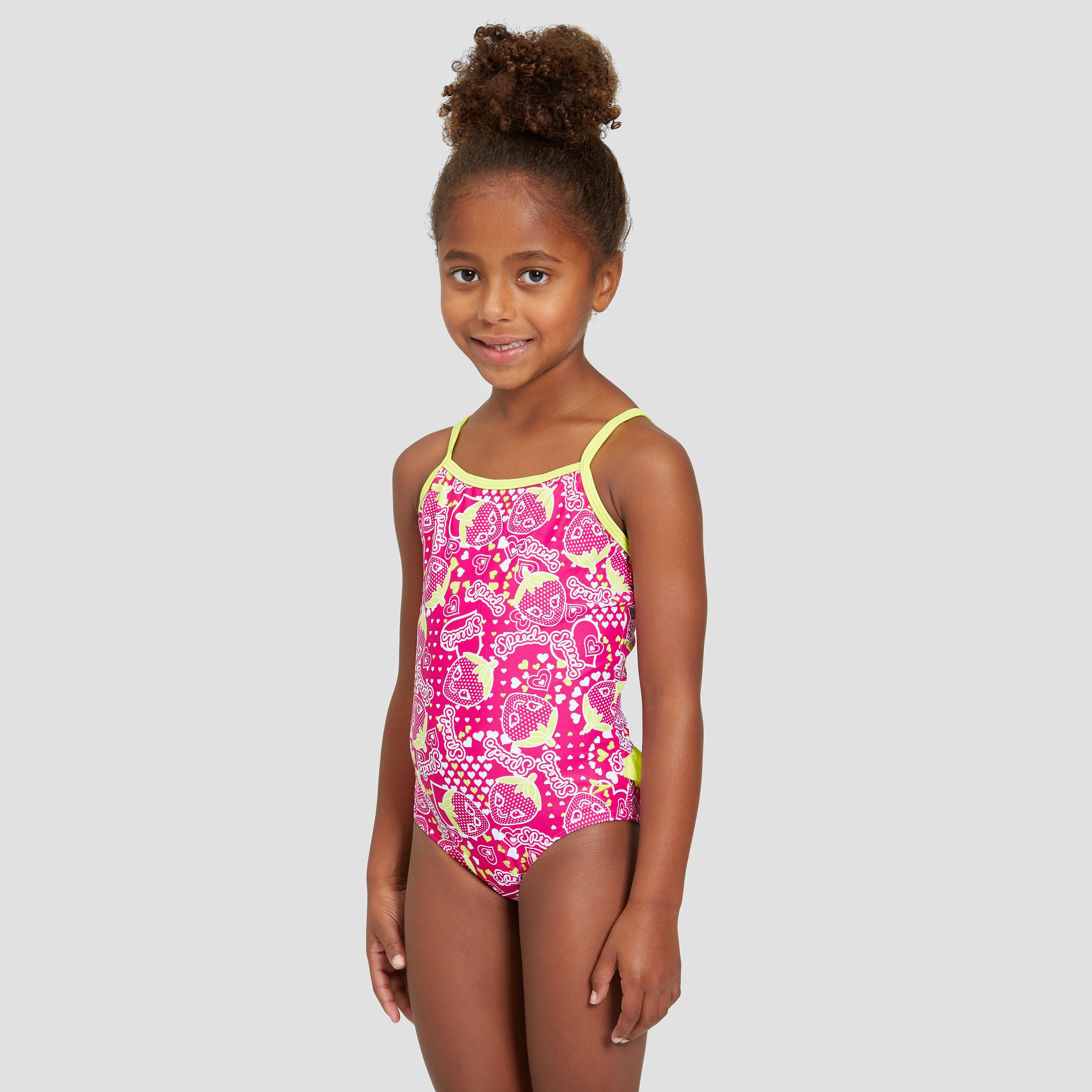 Speedo Starfizz Essential Frill Junior Swimsuit