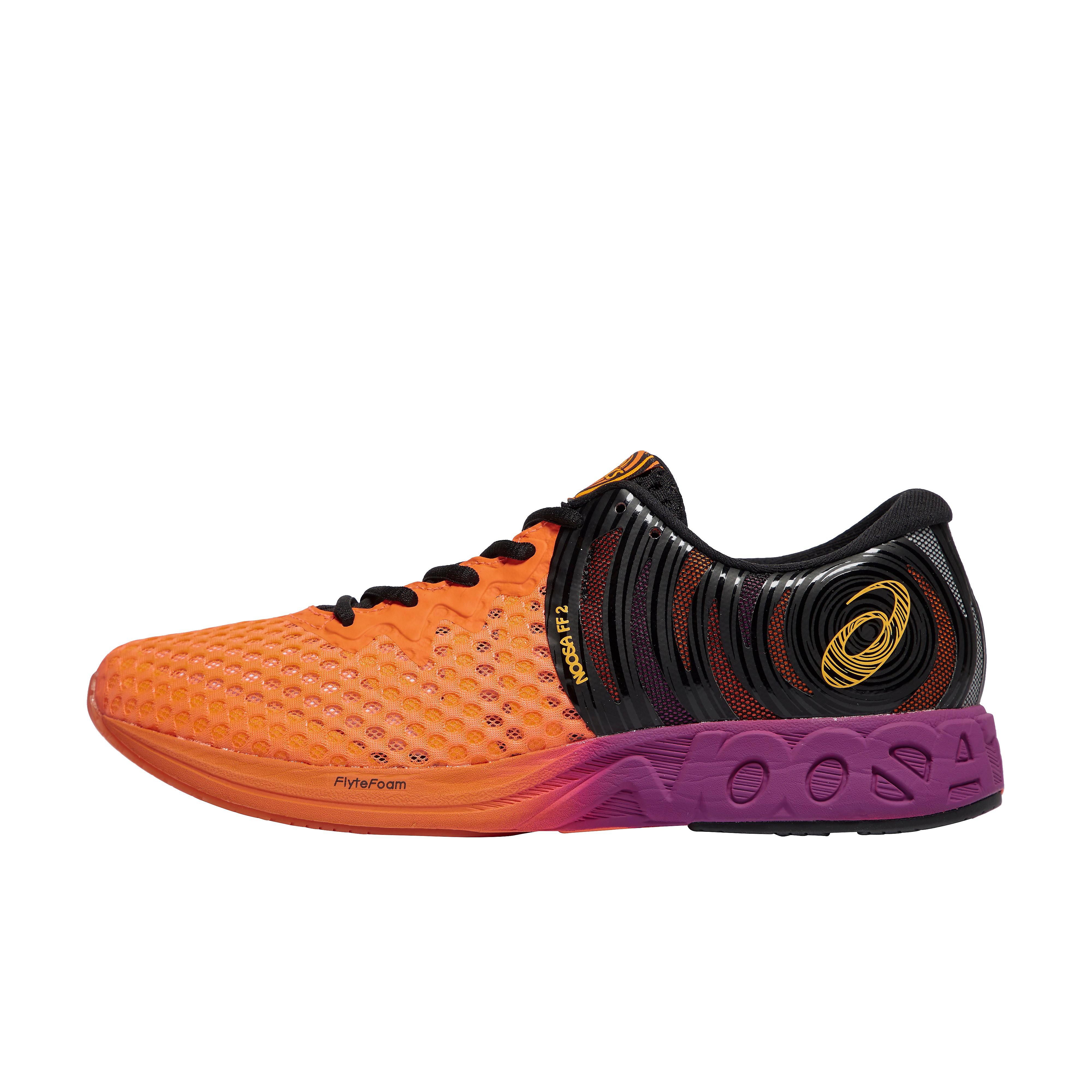 Men's ASICS Noosa flytefoam 2 Running Shoes - Coral, Coral