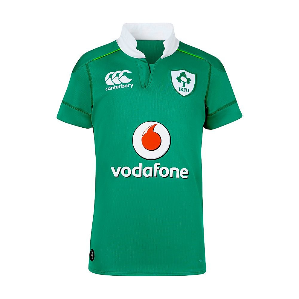 Canterbury Ireland RFU 2016/17 Junior Home Shirt