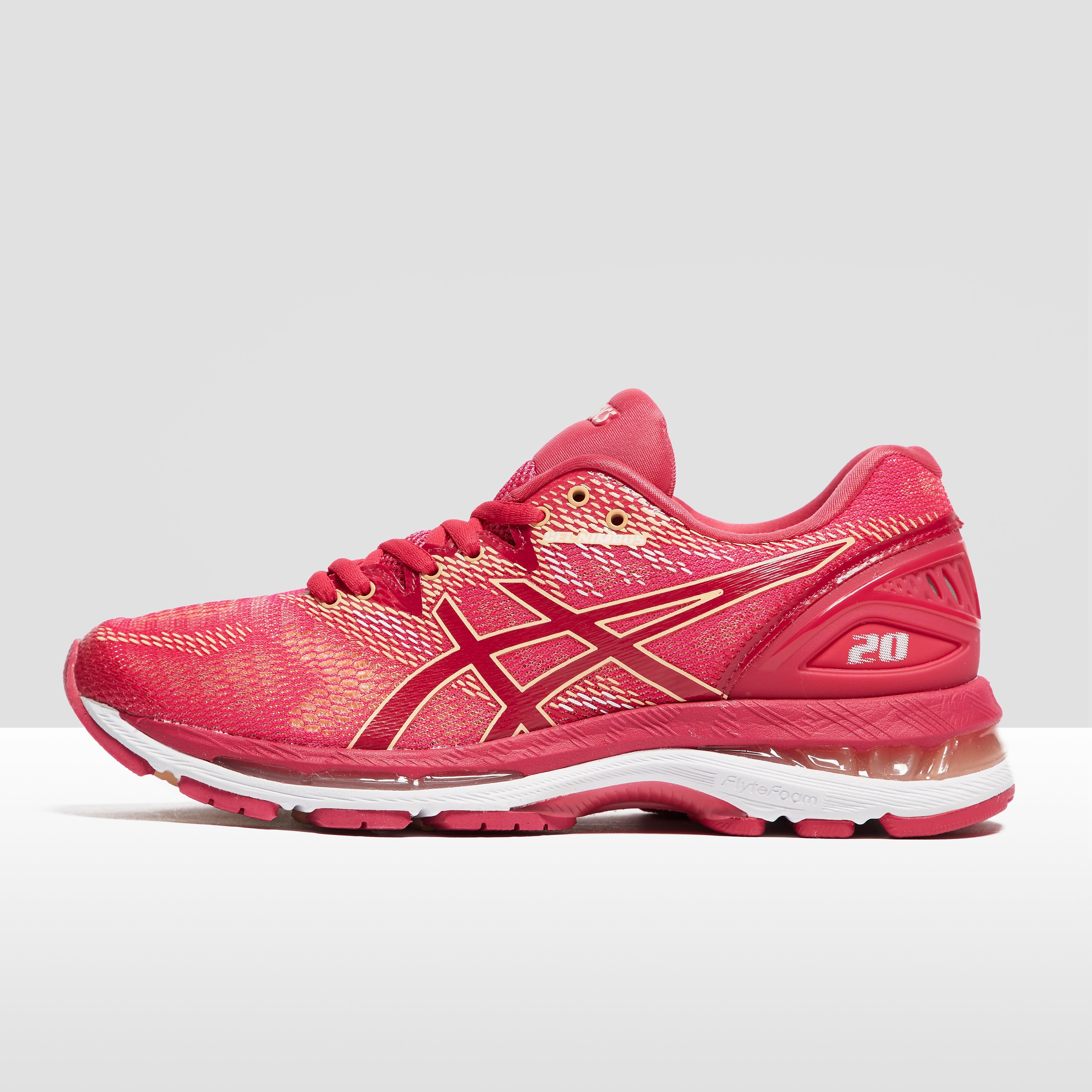 Women's ASICS Gel-Nimbus 20 Running Shoes - Pink, Pink