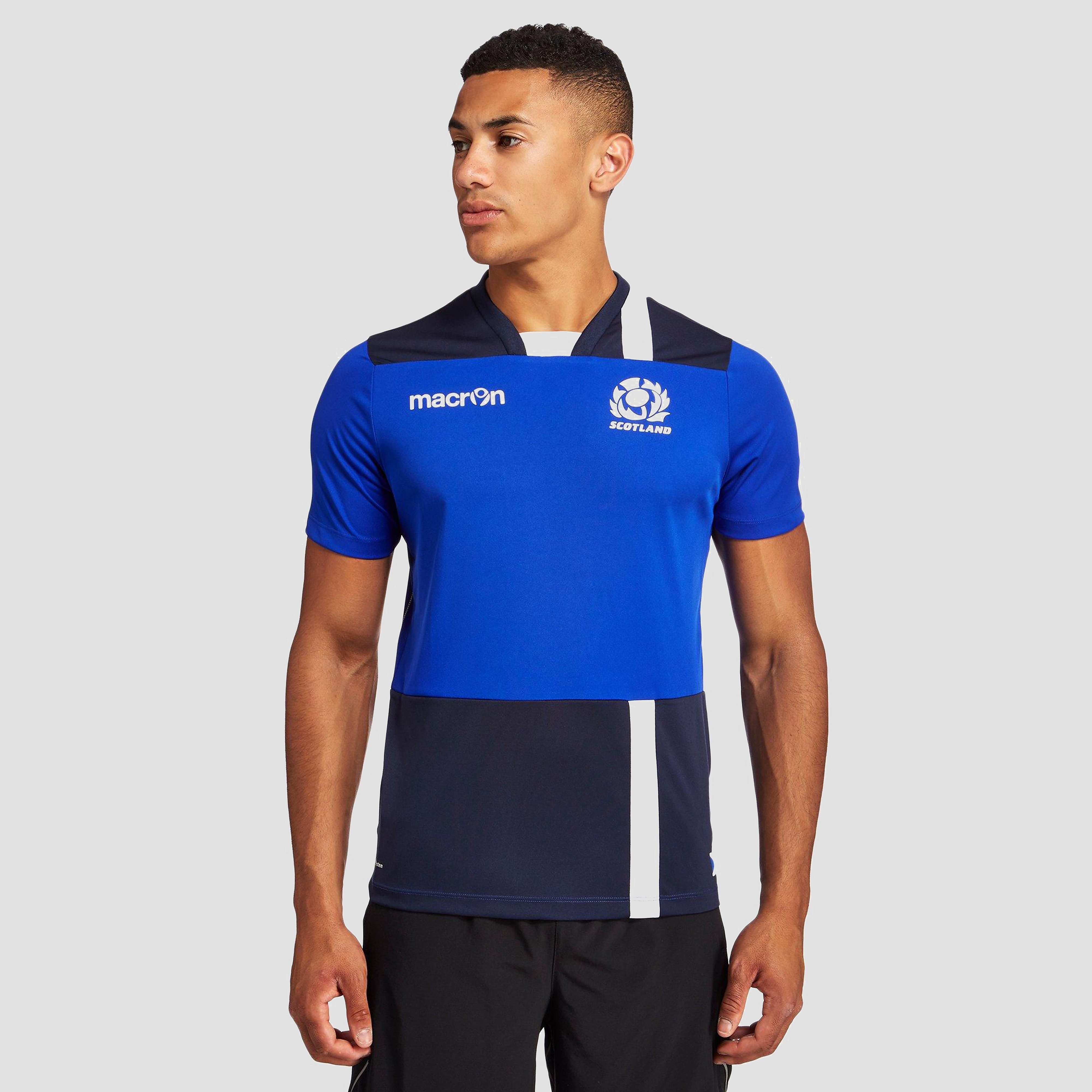 Macron Scotland Men's Poly Shirt