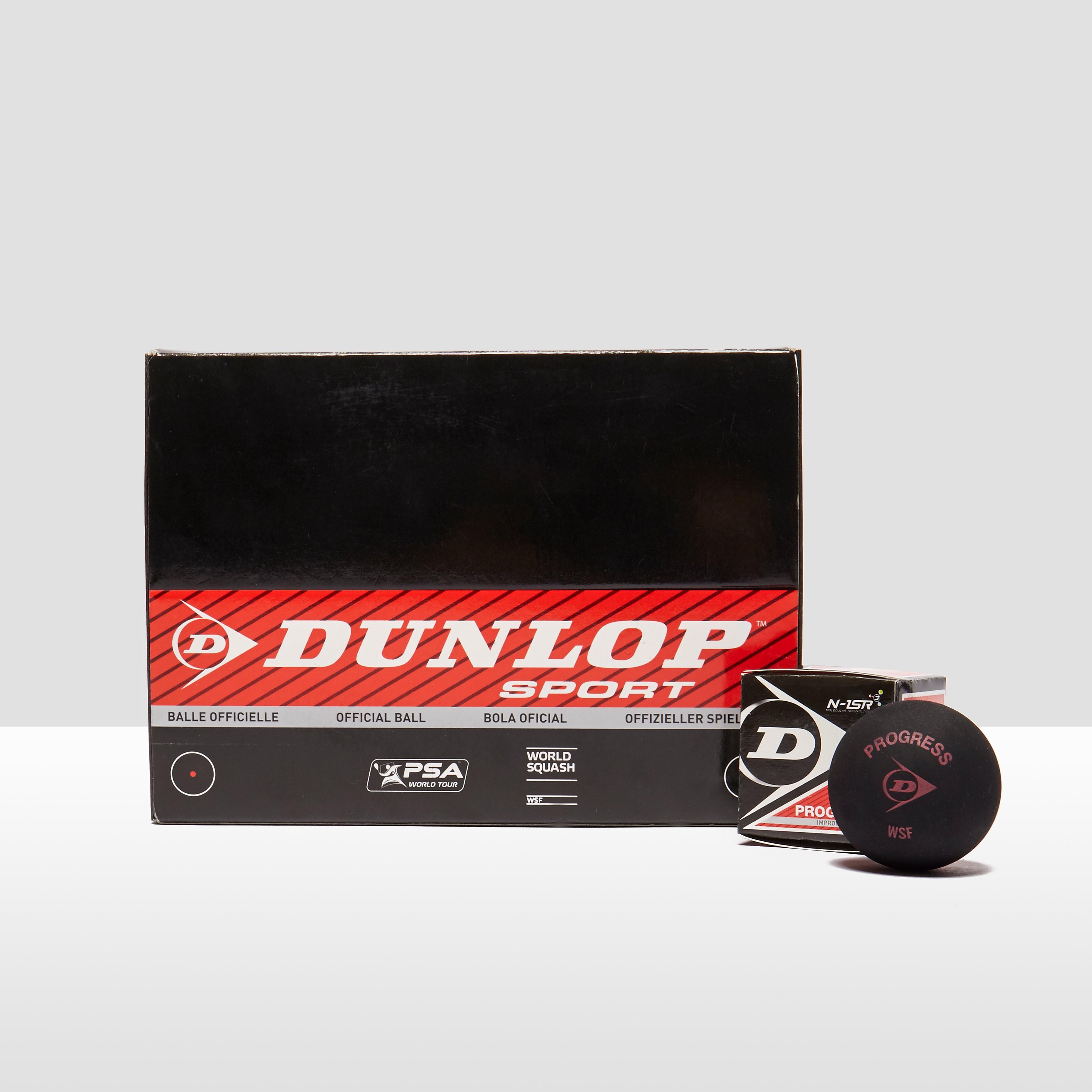 Dunlop 12 Pack Squash Balls