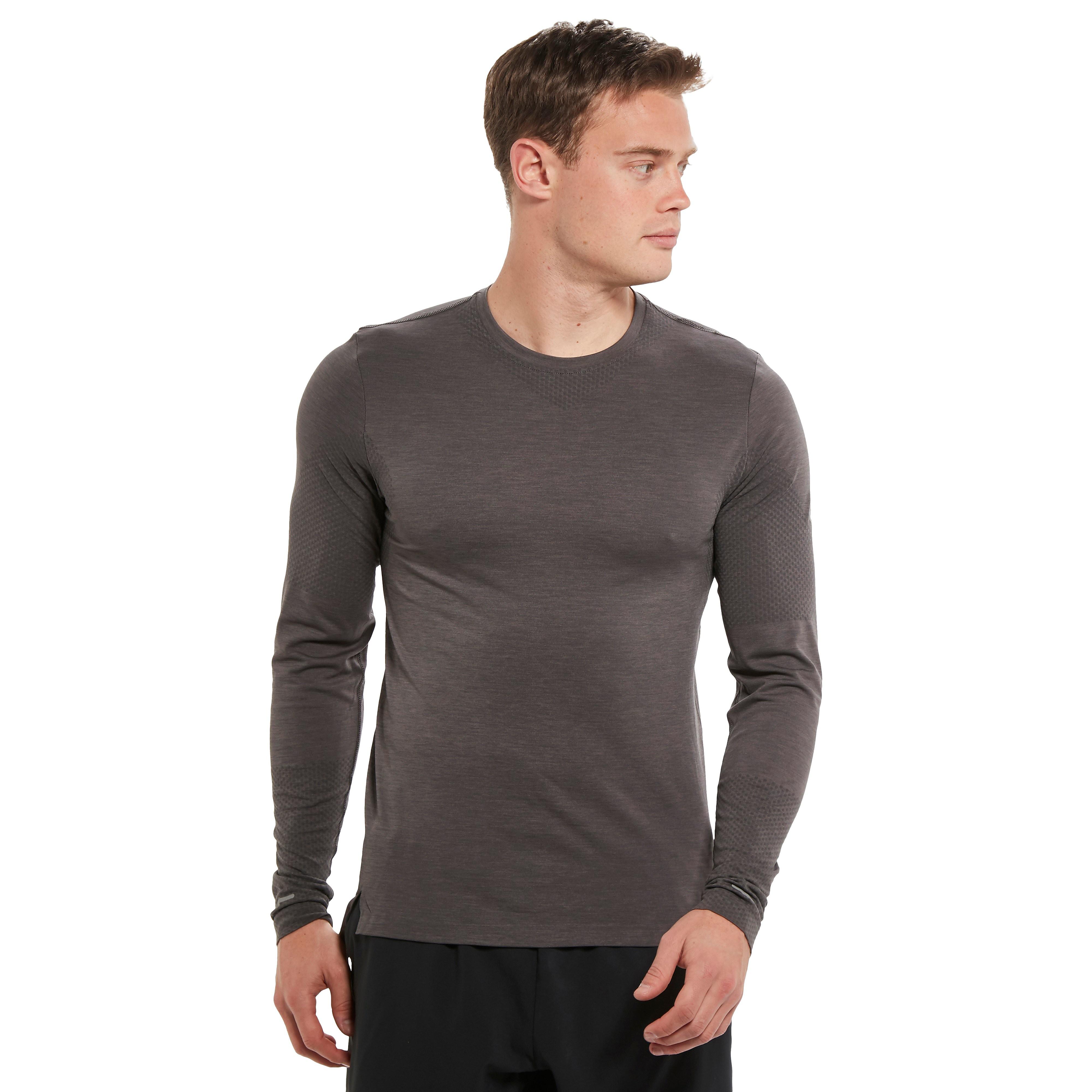 ASICS Long Sleeved Men's Seamless Running Top