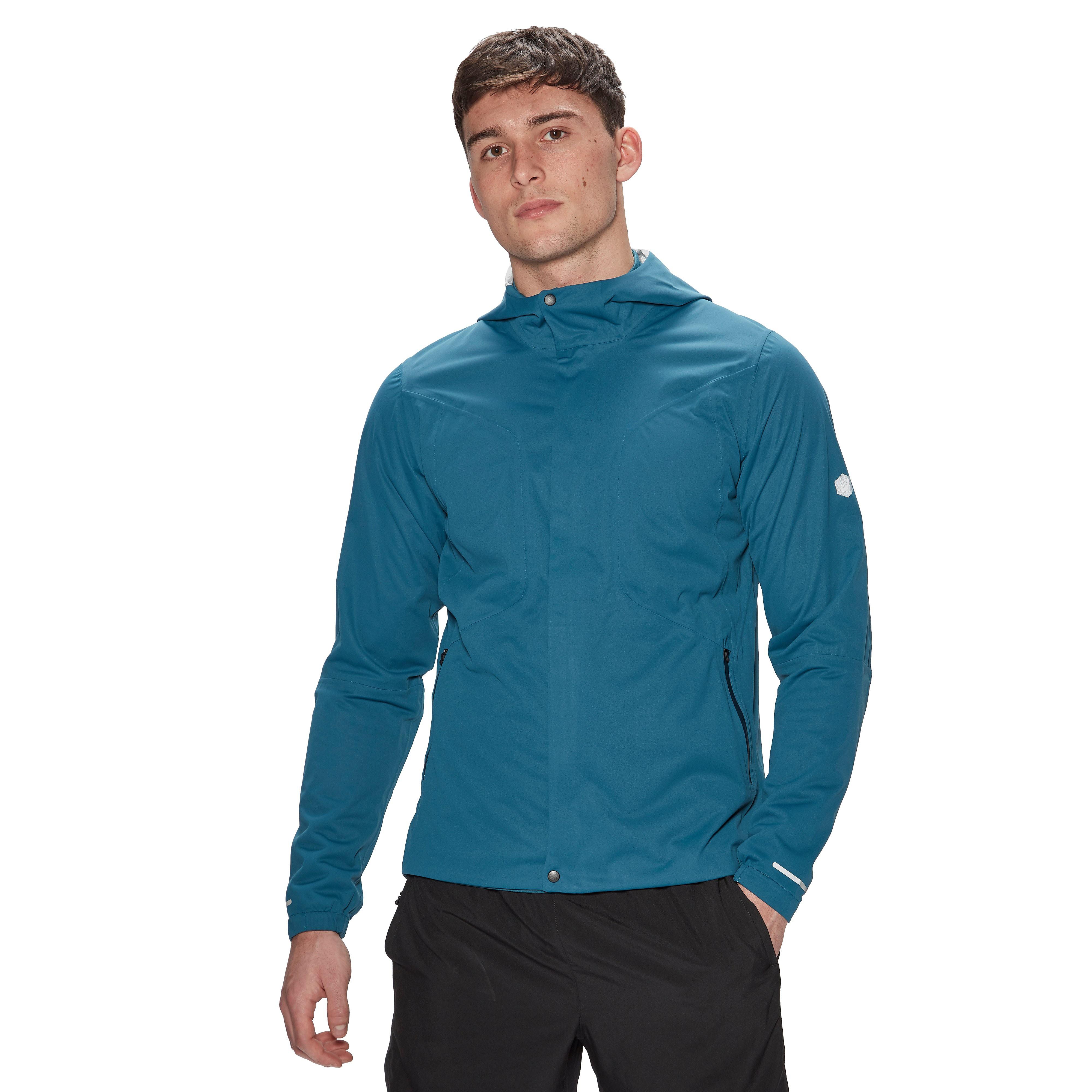 Men's ASICS Accelerate Running Jacket - Blue, Blue