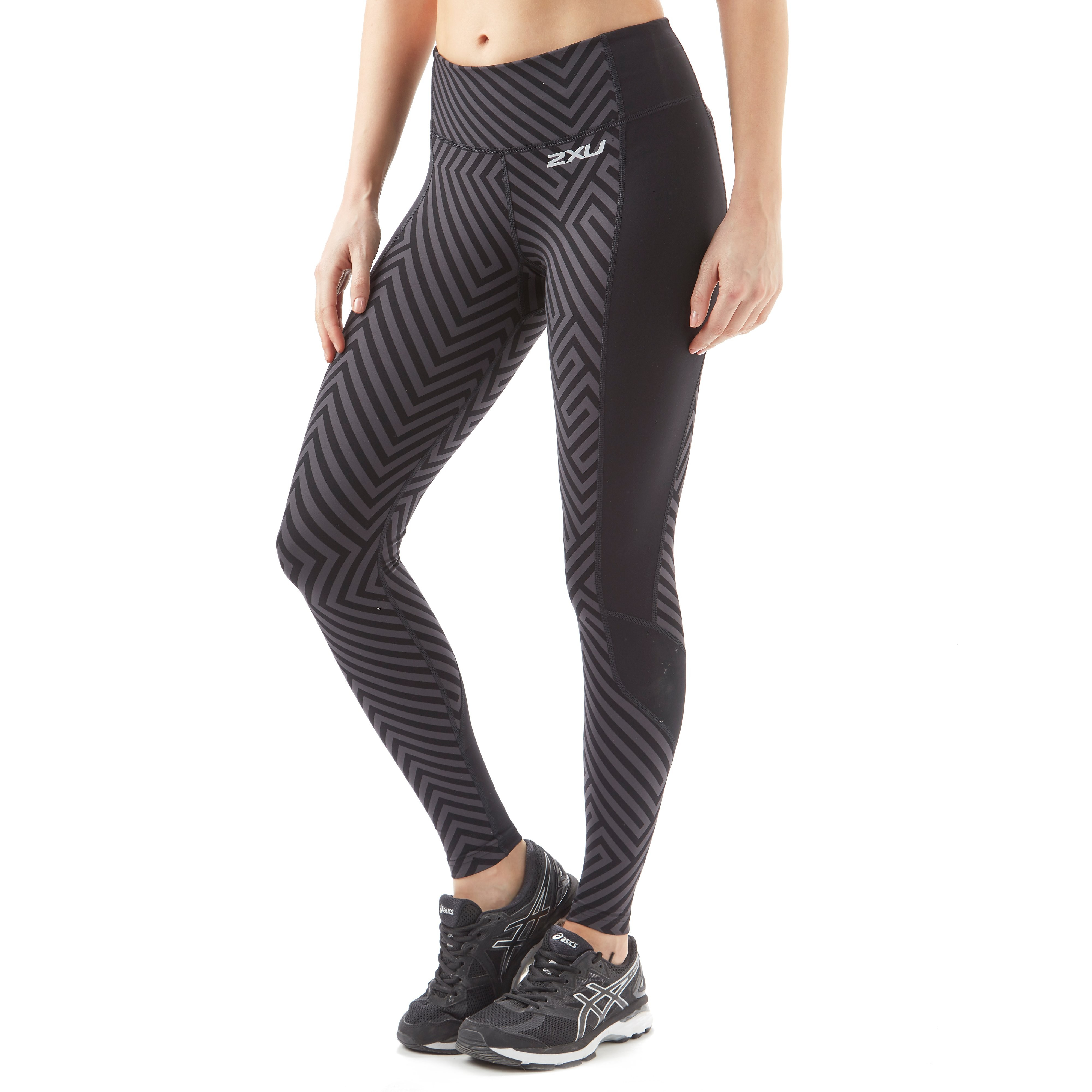 2XU Pattern Fitness Compression Women's Running Tights