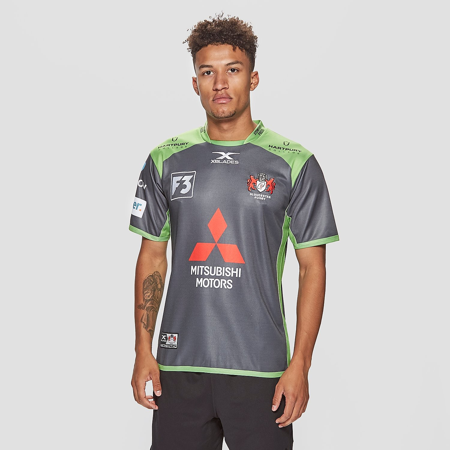X Blades Gloucester 2017/18 Alternative Shirt