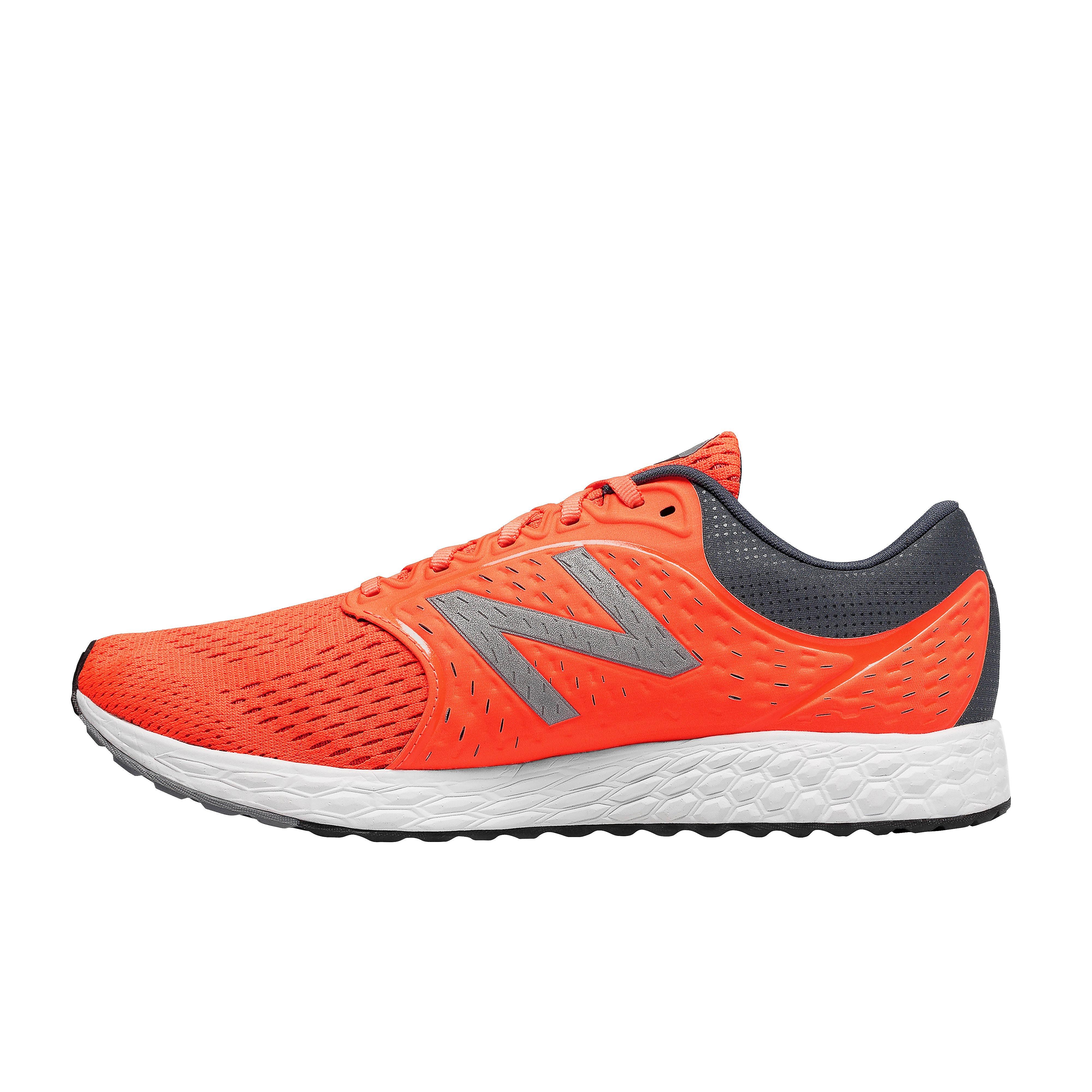 Men's New Balance Fresh Foam Zante V4 Running Shoes - Orange, Orange