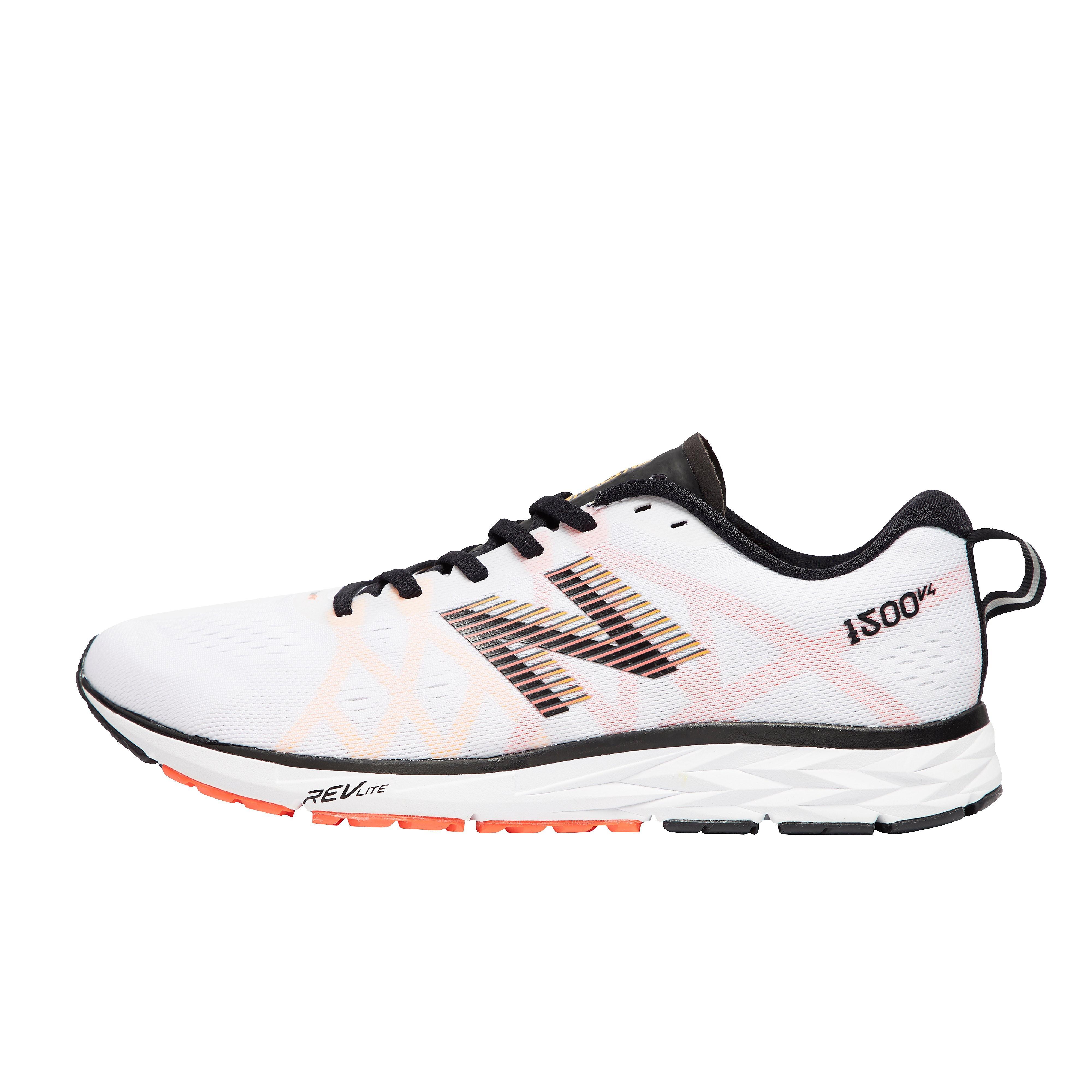 Men's New Balance 1500v4 Running Shoes - White, White