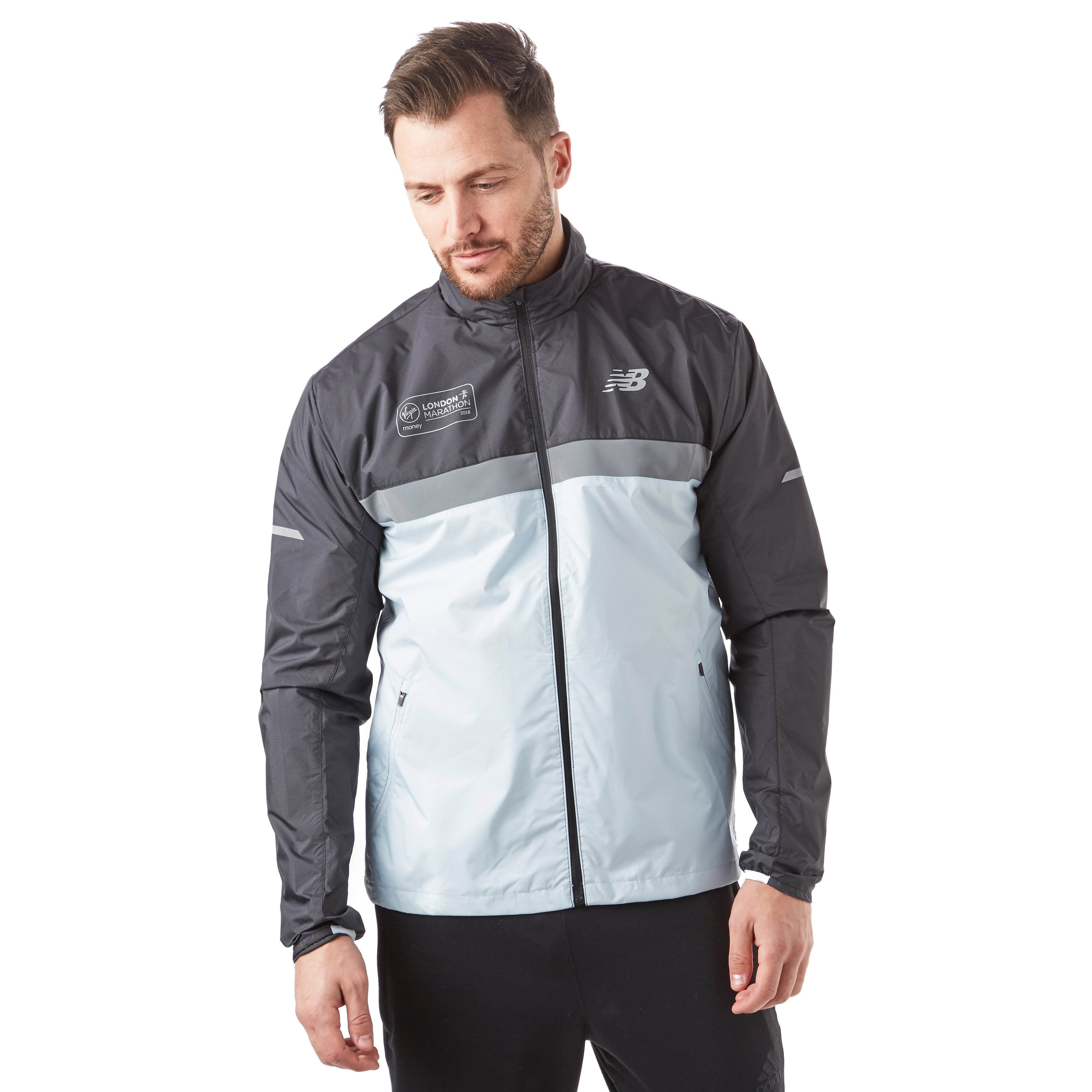 New Balance London Marathon Edition Windcheater Men's Running Jacket