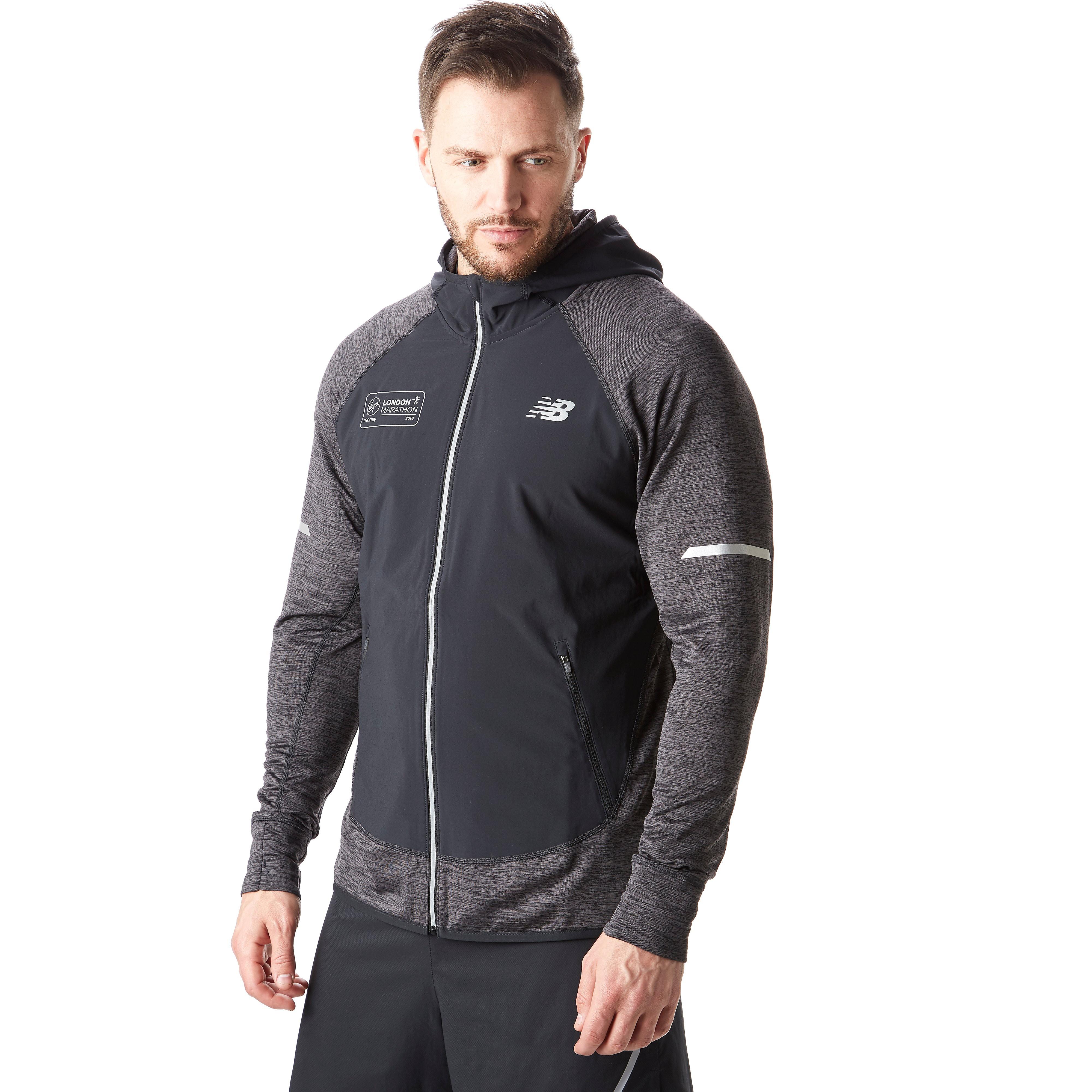 New Balance London Marathon Edition Q Speed Men's Running Jacket