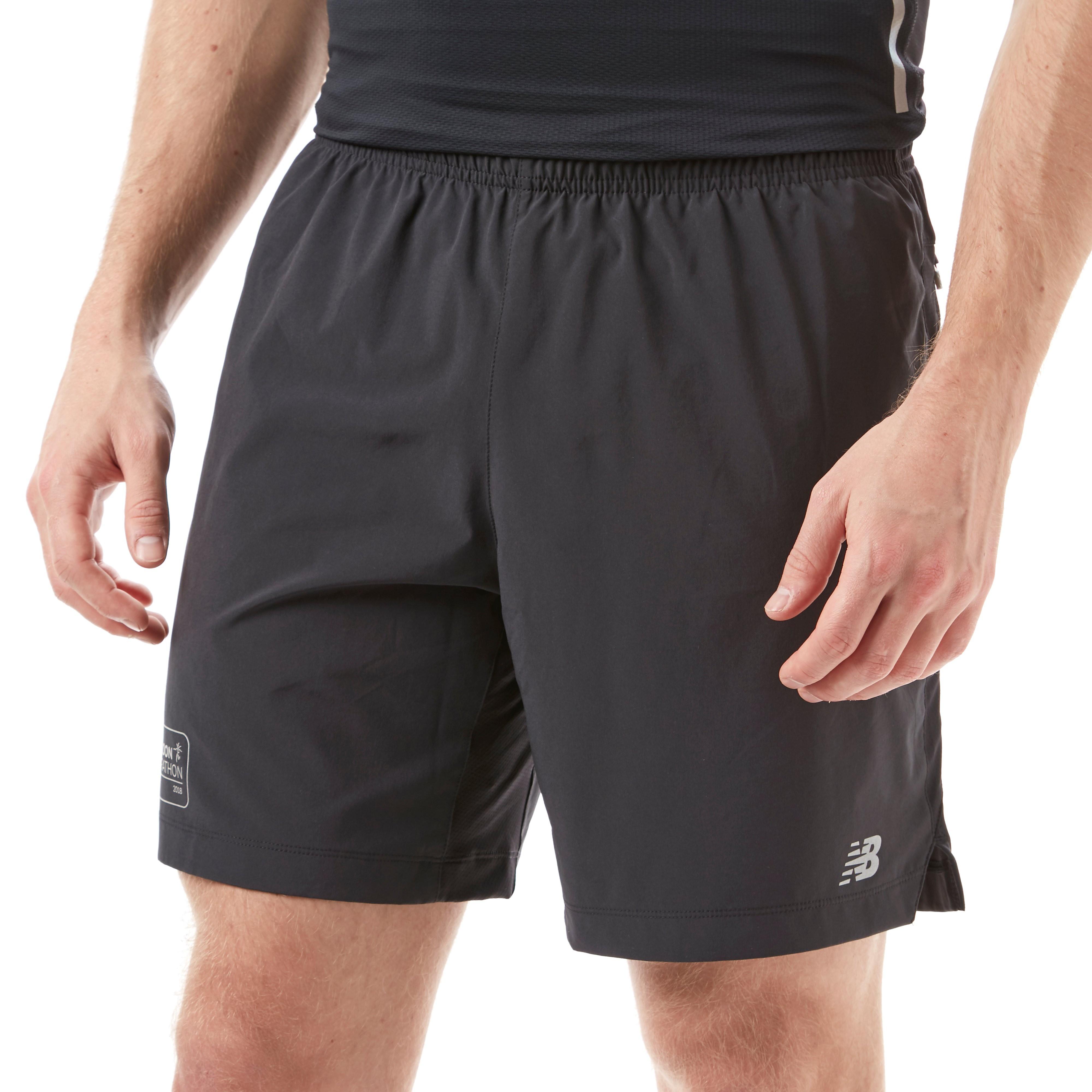 "New Balance London Marathon Edition Impact 7"" Men's Running Shorts"
