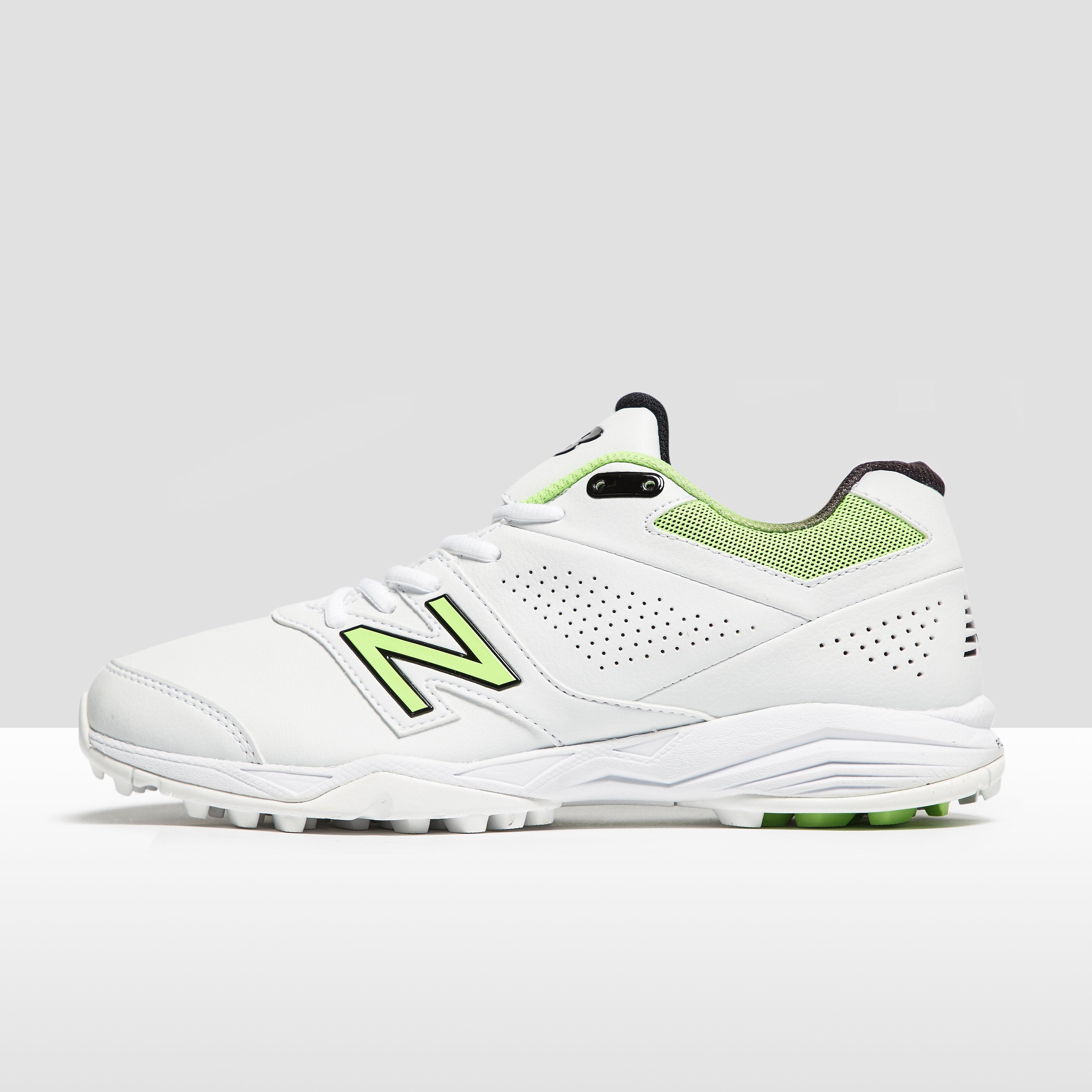 Men's New Balance CK4020 Cricket Shoes - White, White