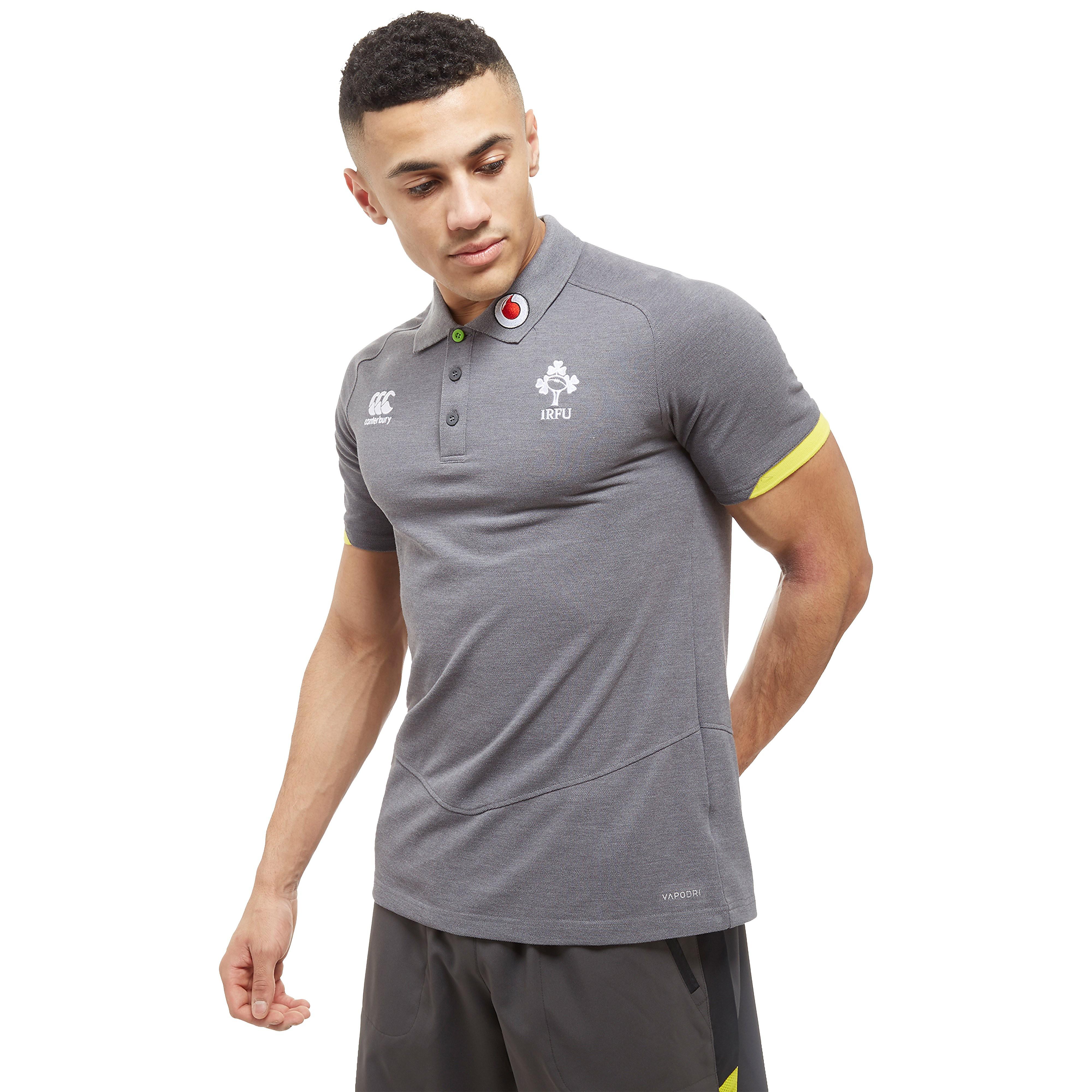 Canterbury VapoDri Cotton Pique Ireland RFU Men's Polo Shirt