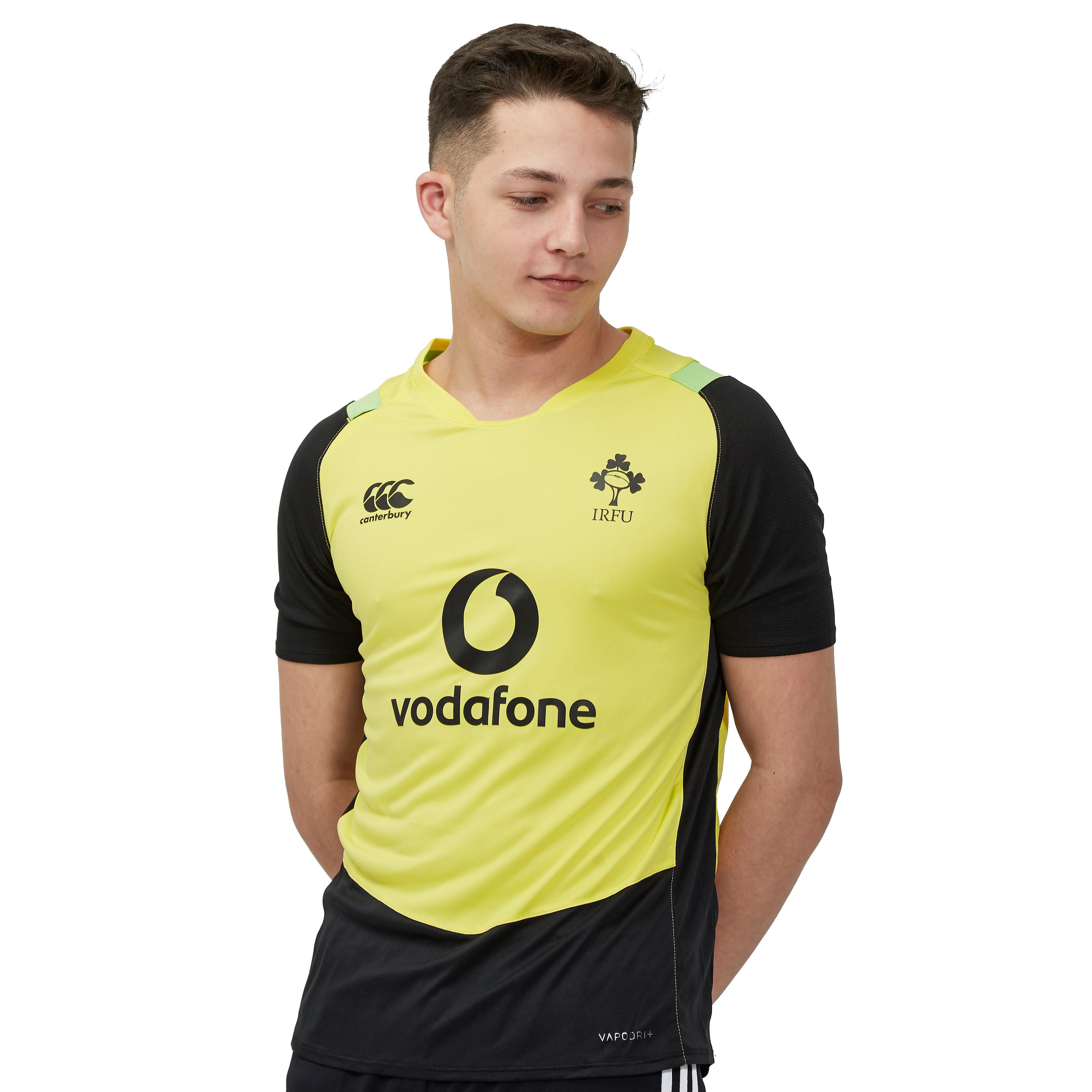 Canterbury Ireland RFU Vapodri Poly Junior T-Shirt