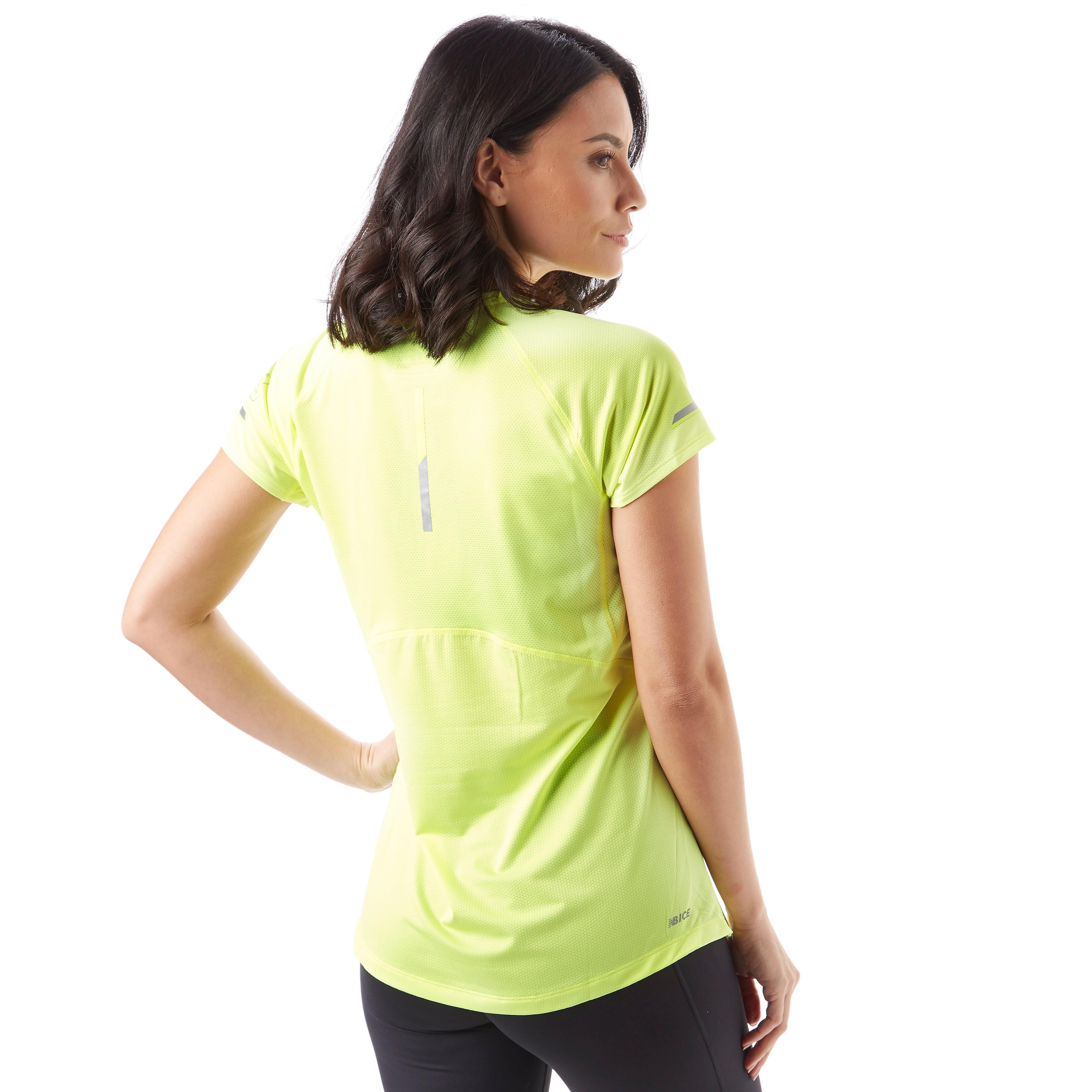 New Balance London Marathon Edition NB Ice 2.0 Short Sleeve Women's Training Top