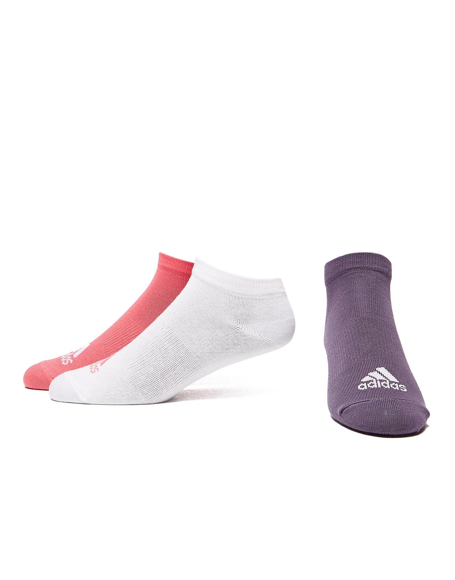 adidas Performance No-Show 3Pack Thin Women's Training Socks