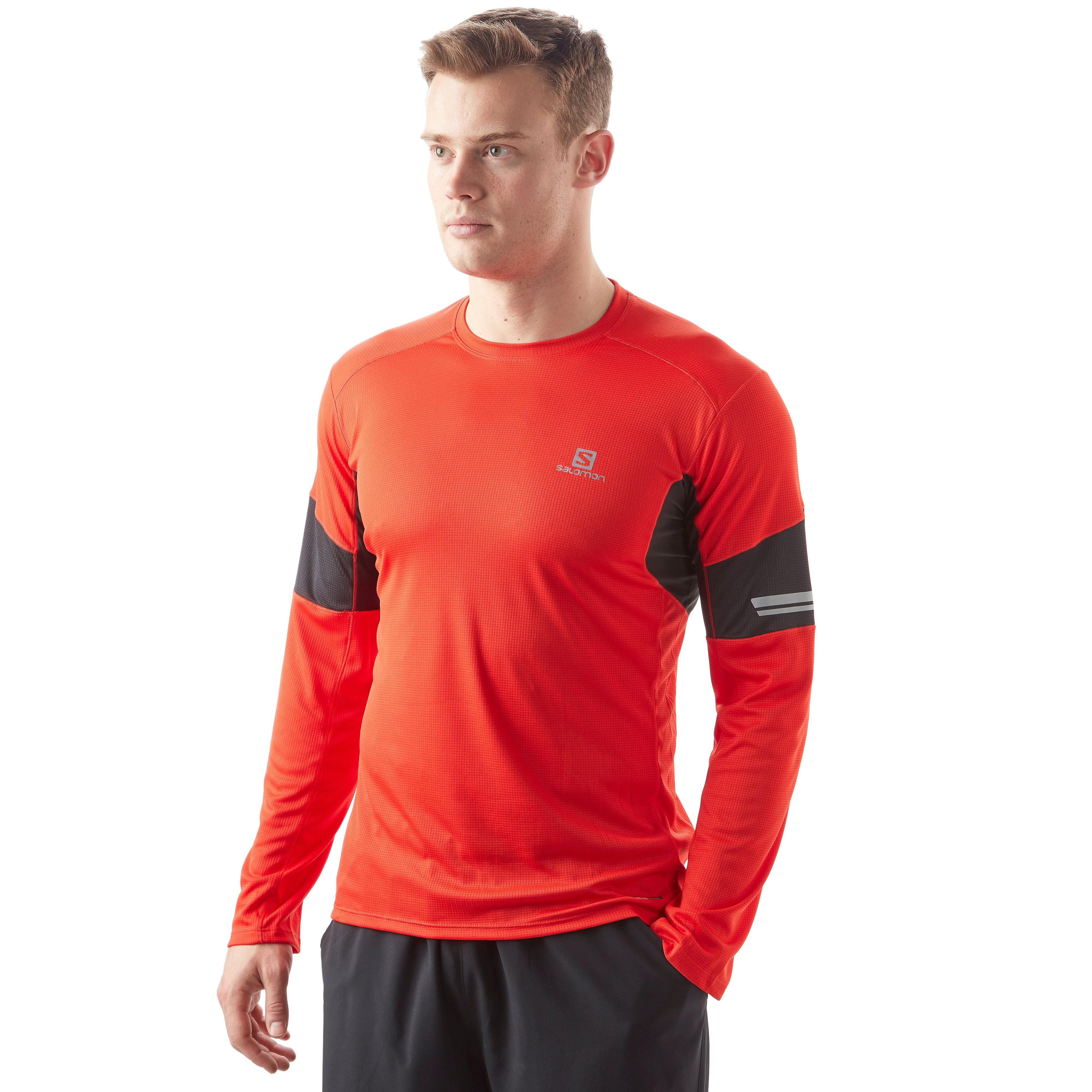 Salomon Agile Long Sleeve Men's trail Running Top