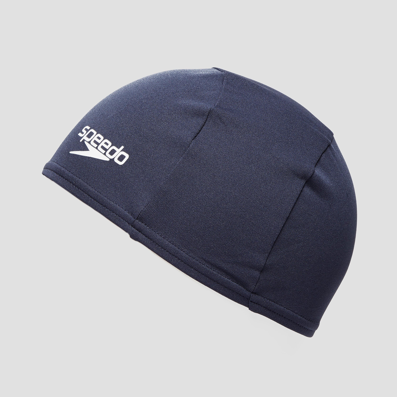 Speedo Plain Moulded Polyester Junior Swimming Cap