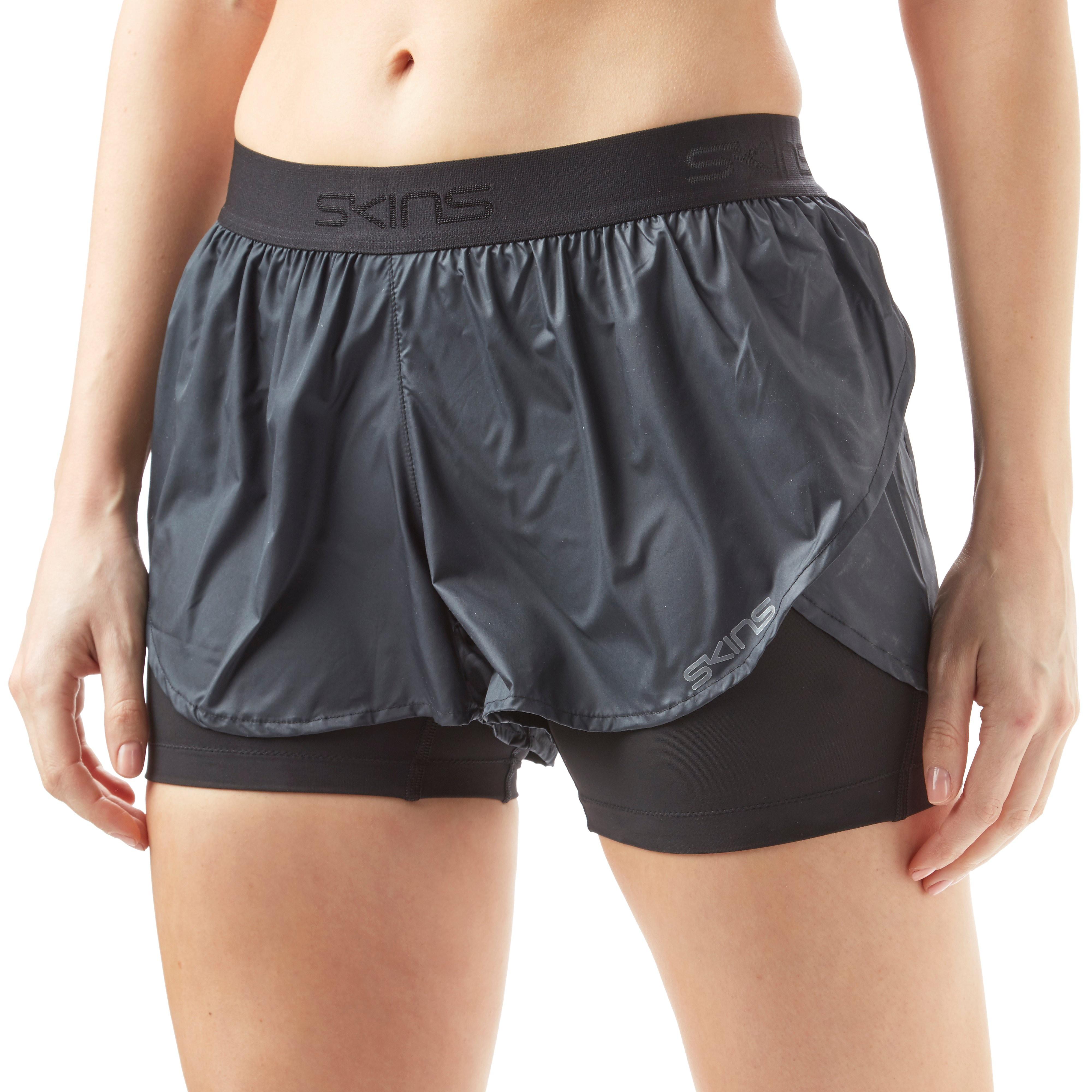 Skins Dnamic Compression Superpose Women's Running Shorts