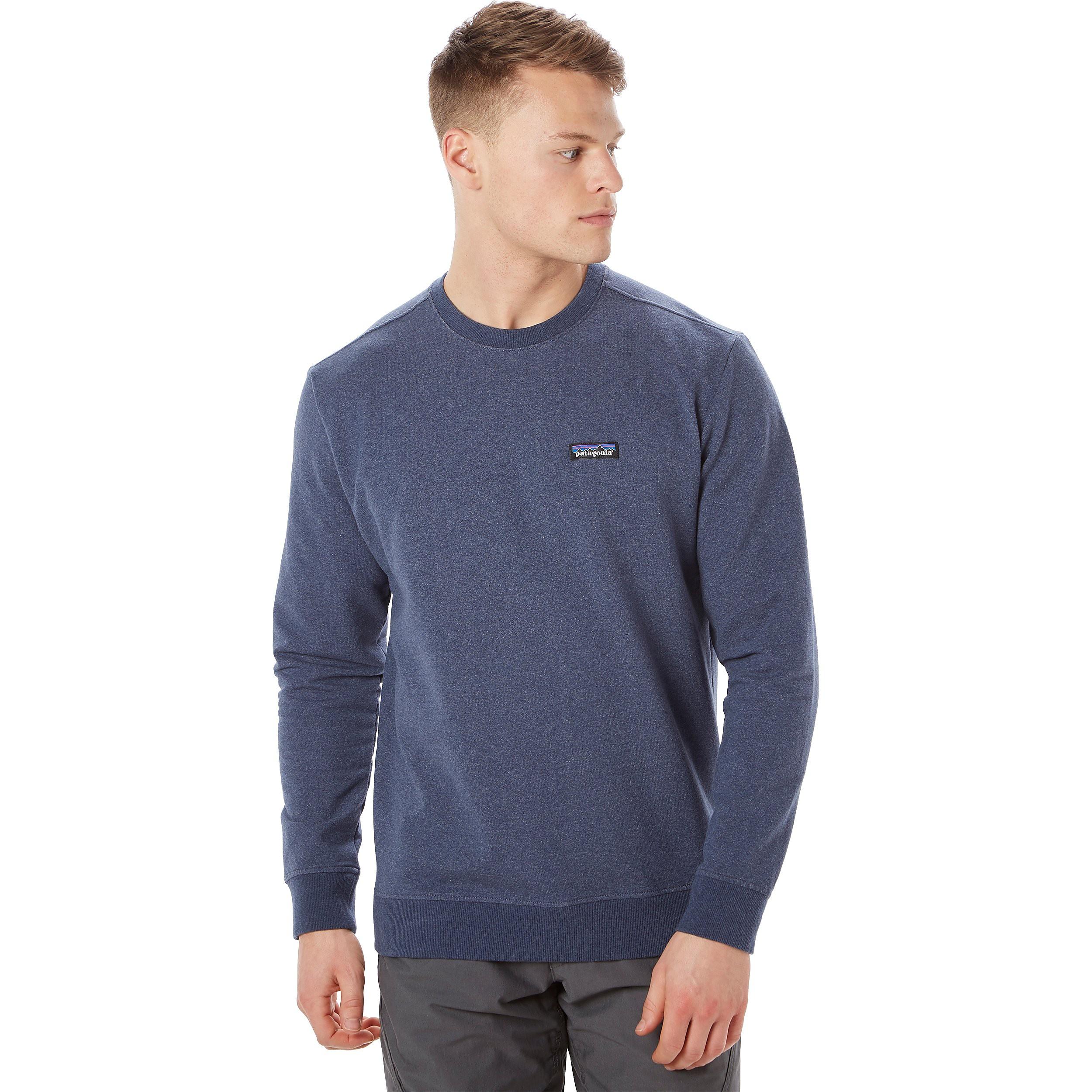 Patagonia P-6 Label Midweight Crew Men's Sweatshirt Tops