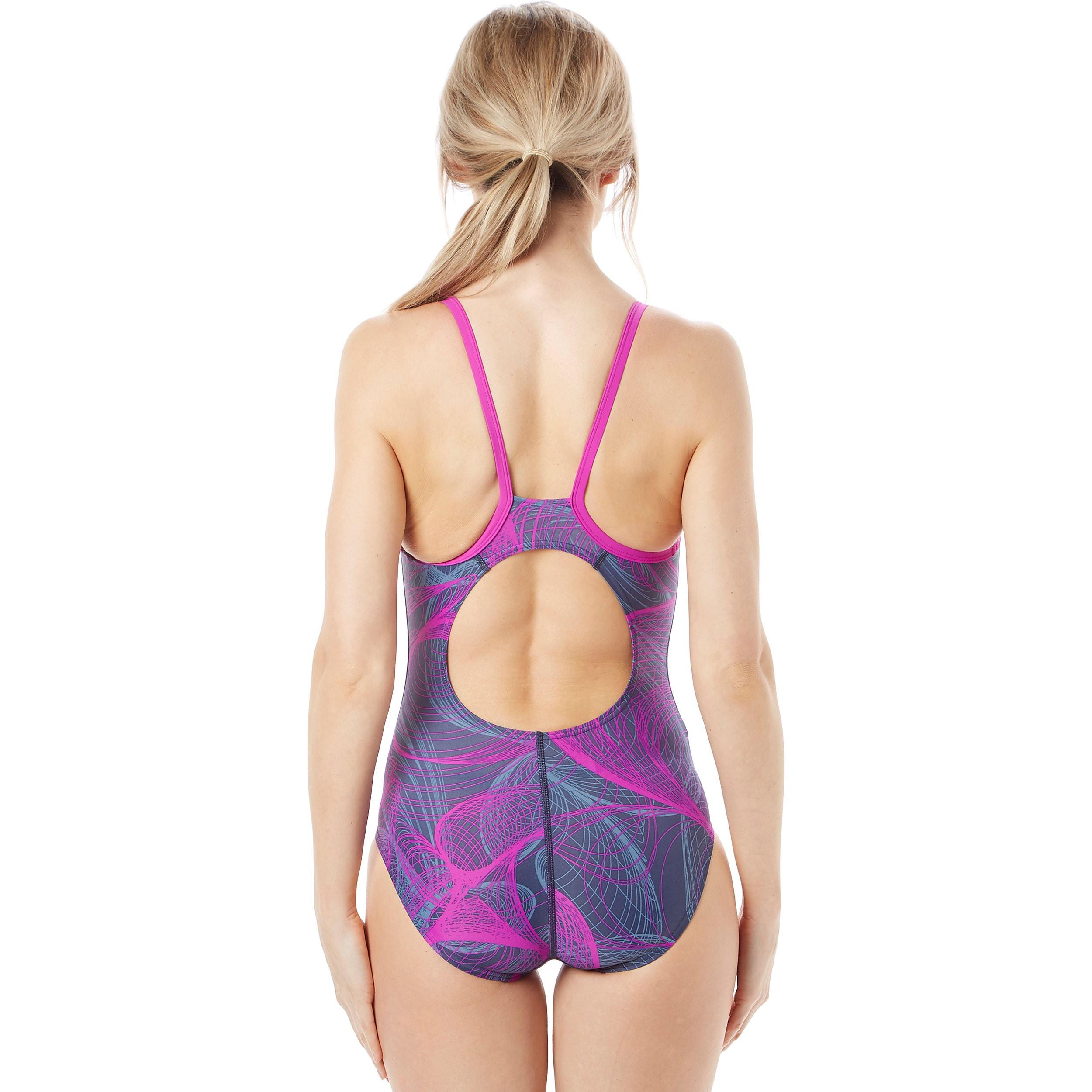 Speedo Cyclone Thinstrap Muscleback Women's Swimsuit