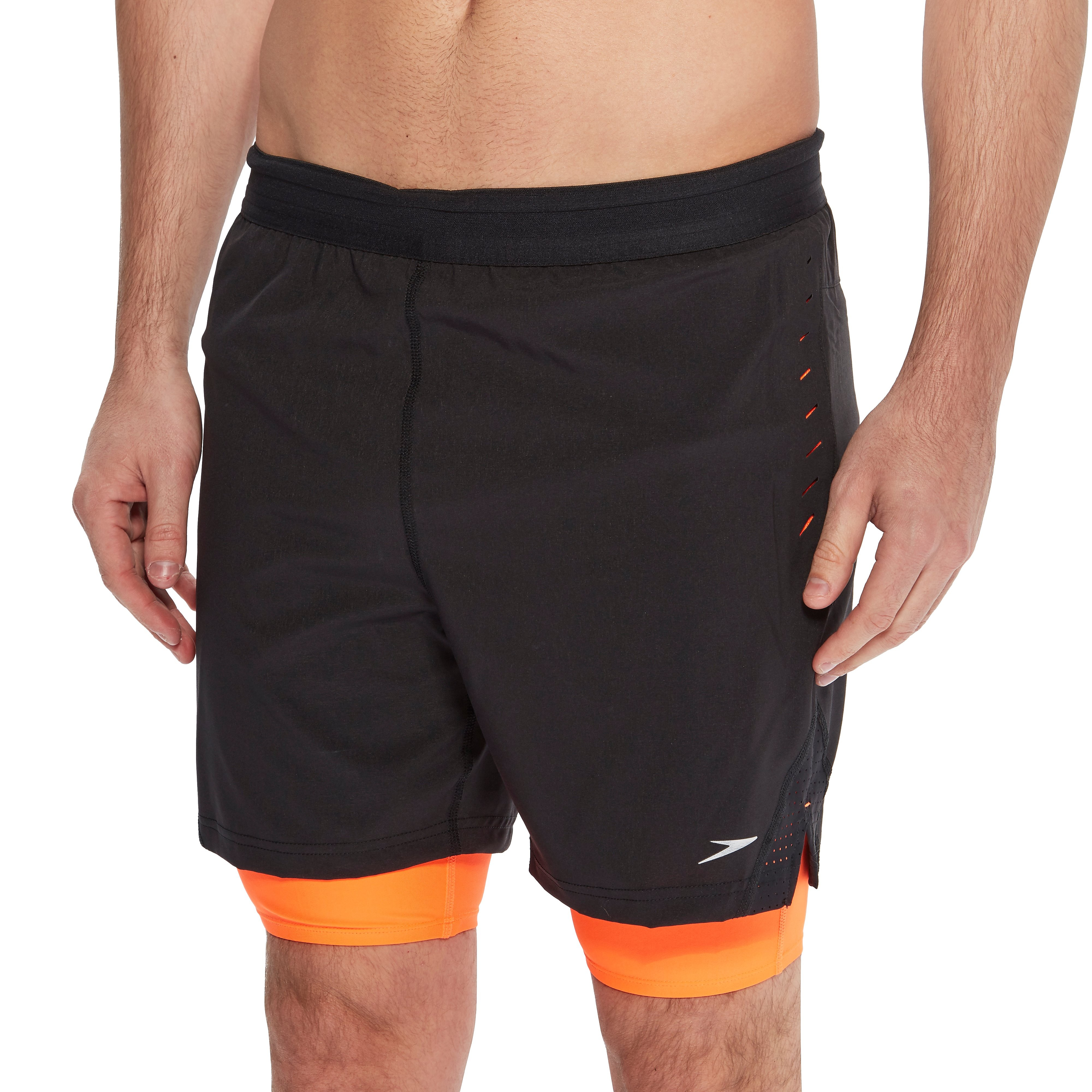 "Speedo Lane Hybrid 16"" Men's Swimming Shorts"