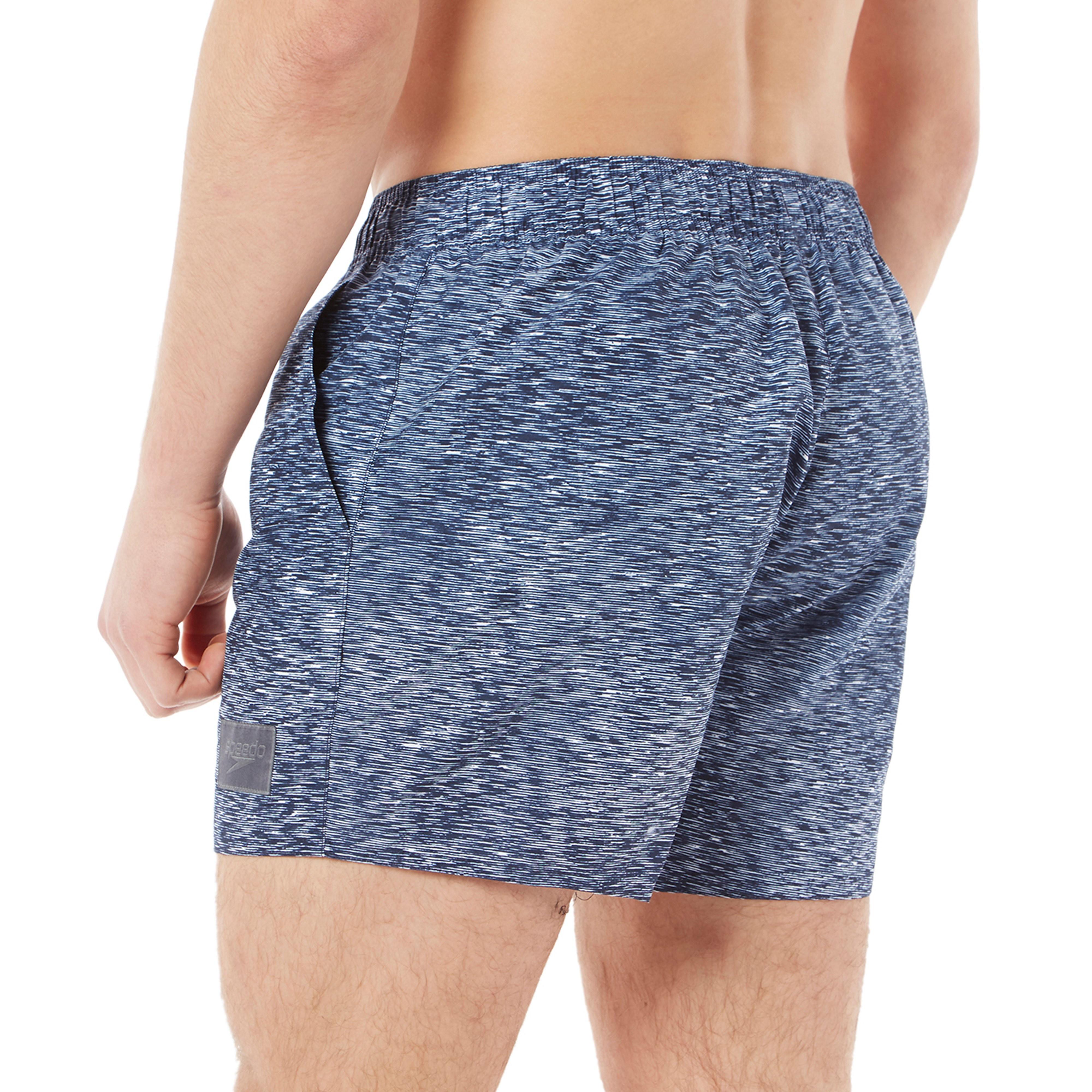 Speedo Alpha Fusion Printed Men's Swim Shorts