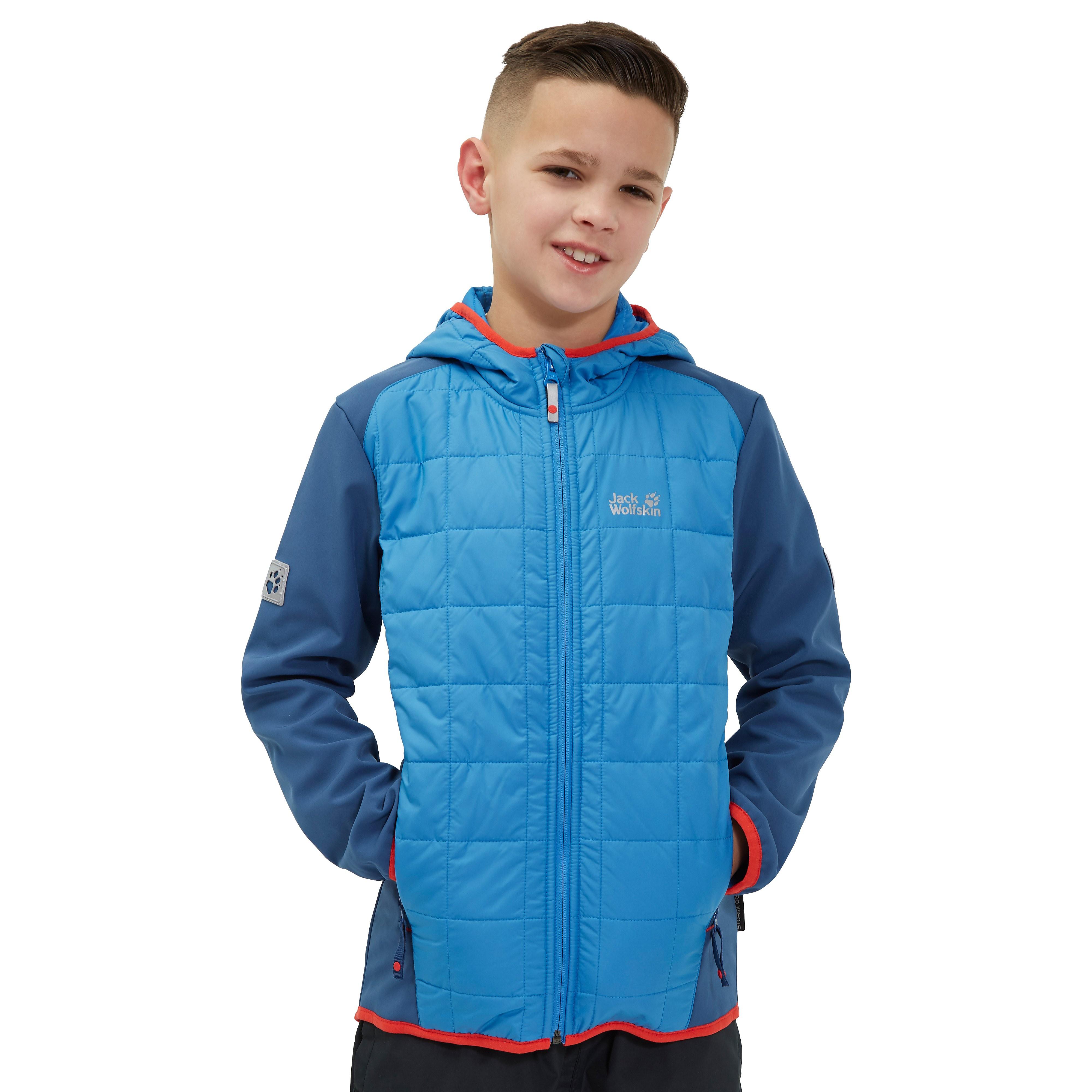 Jack Wolfskin Grassland Hybrid Softshell Junior Jacket