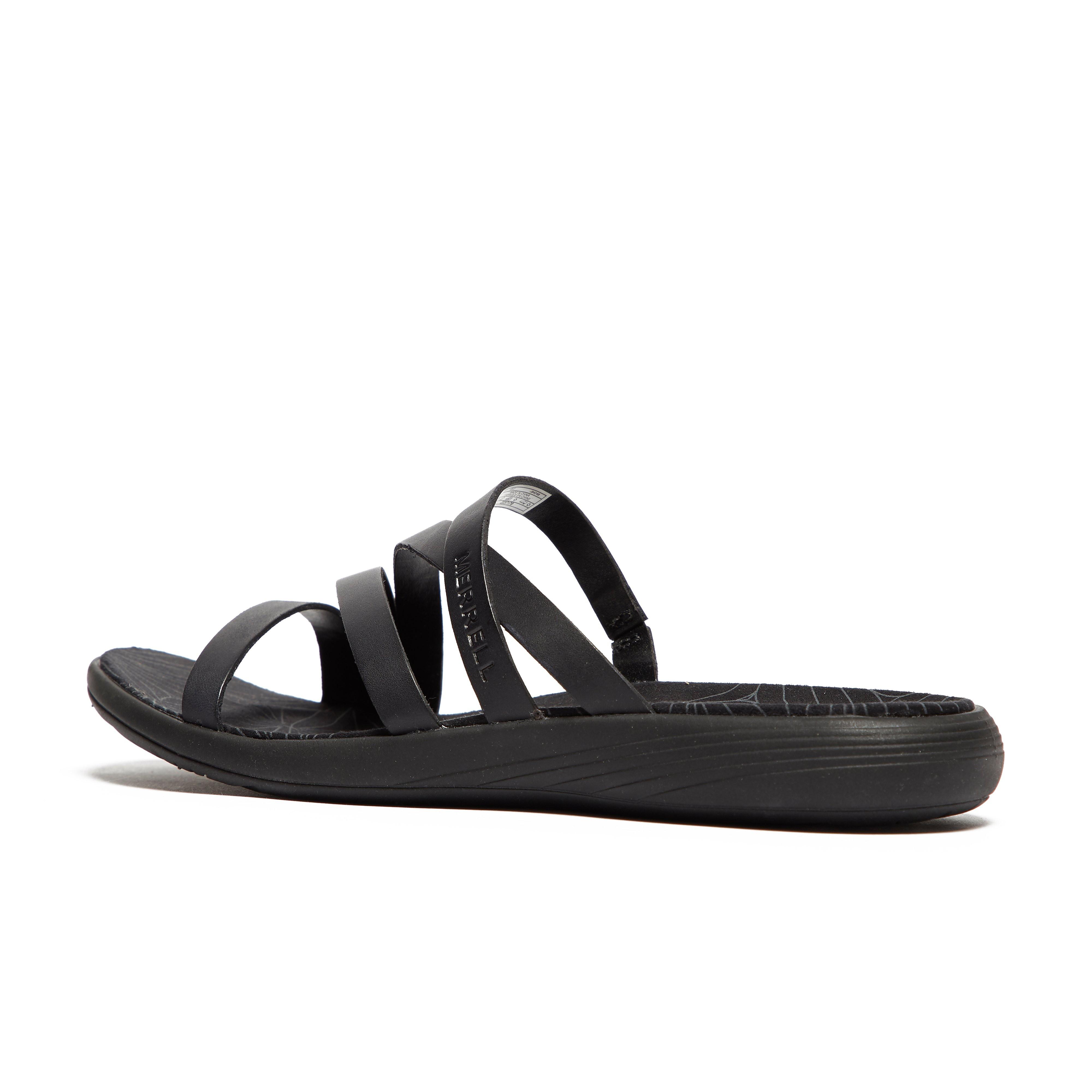 Merrell Duskair Seaway Leather Slide Women's Walking Sandal