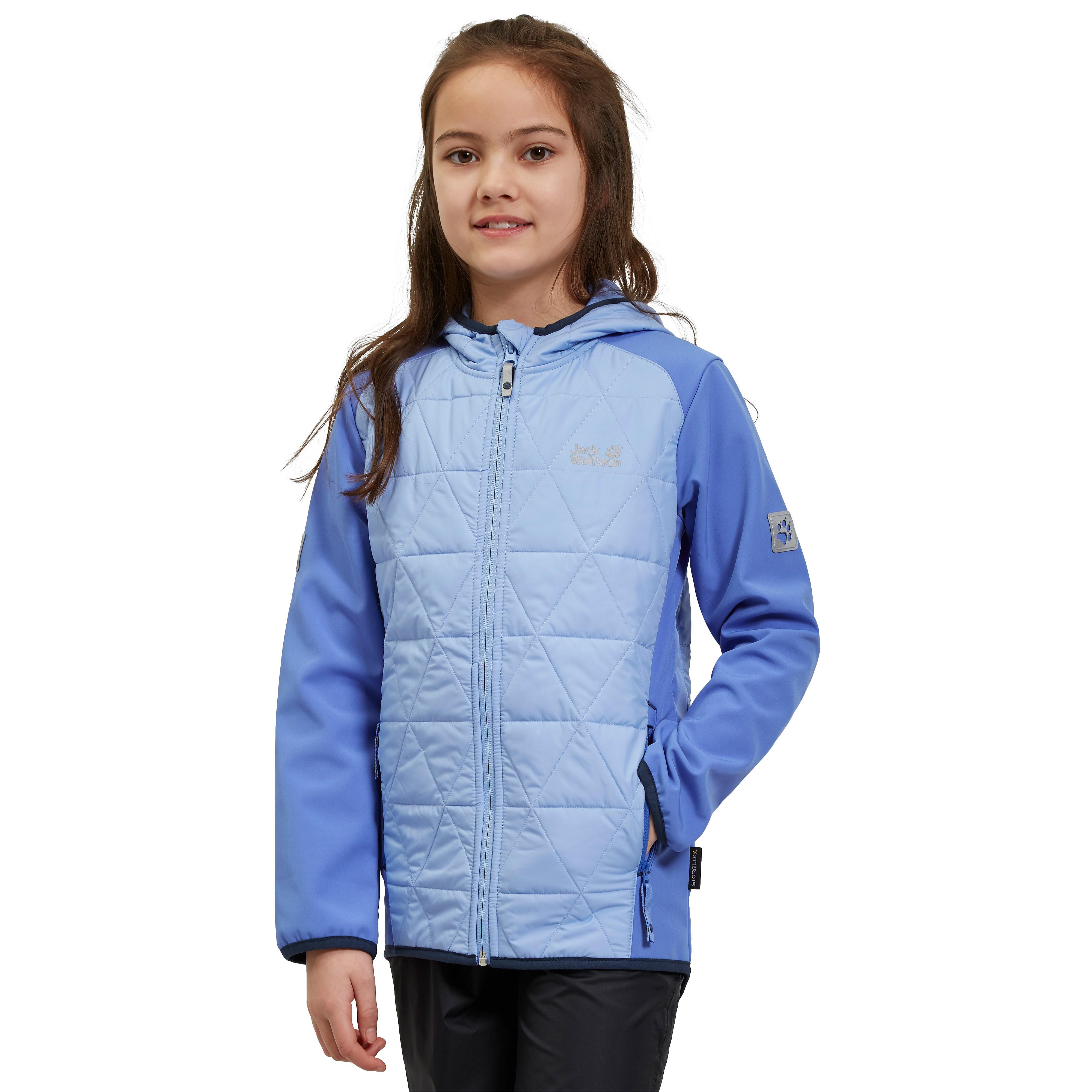 Jack Wolfskin Grassland Softshell Hybrid Junior Jacket