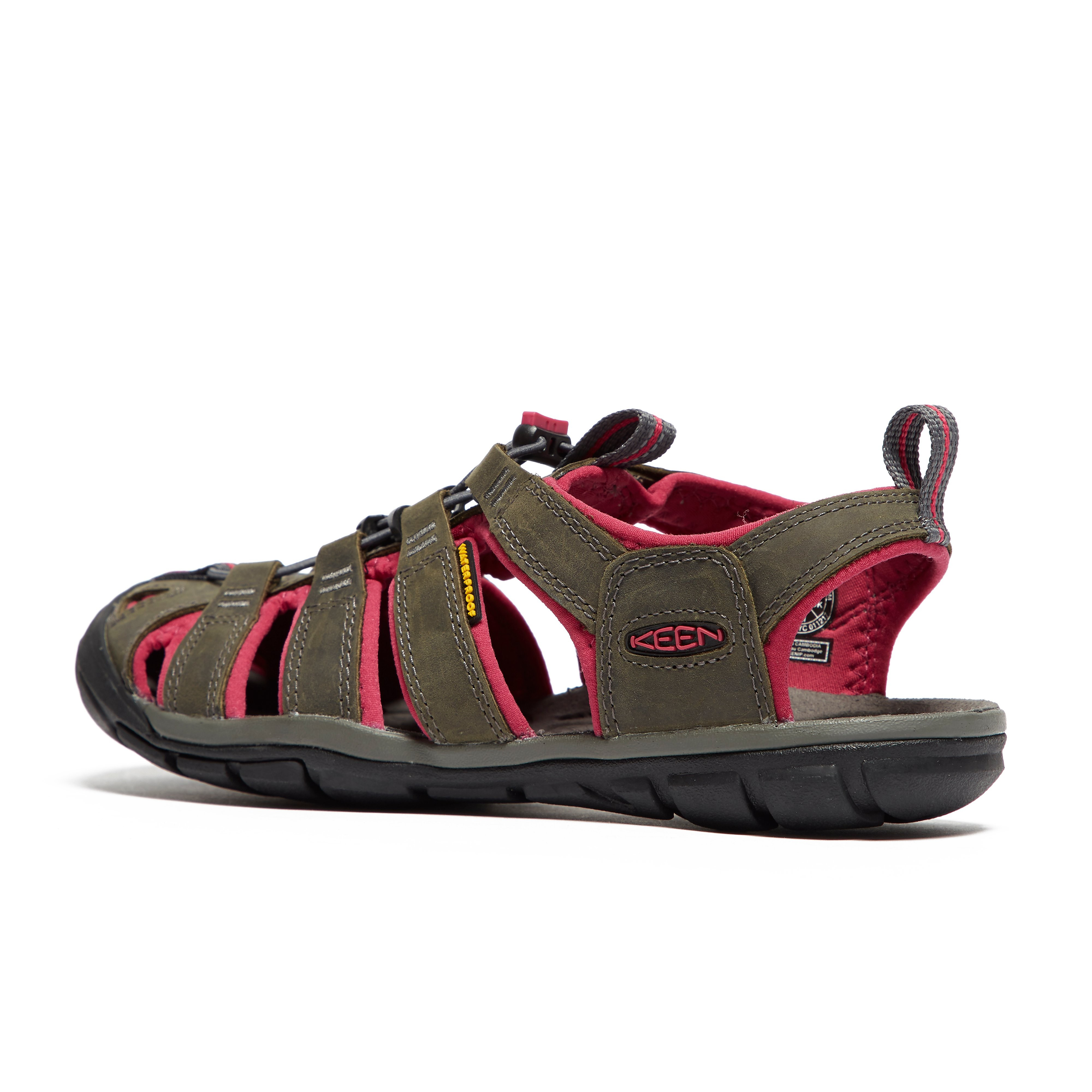 Keen Clearwater Leather CNX Women's Walking Sandals